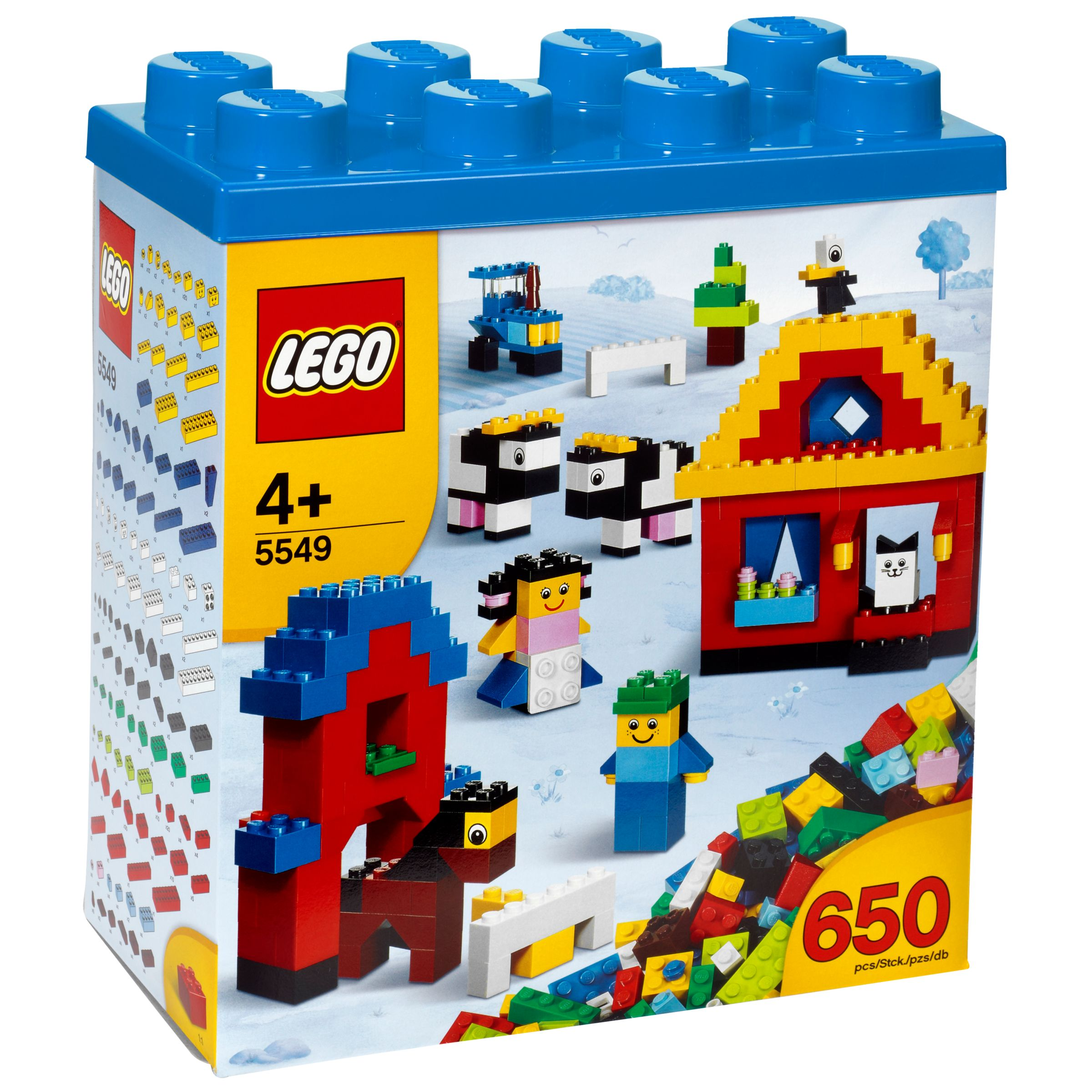 Lego Building Fun Box, Blue