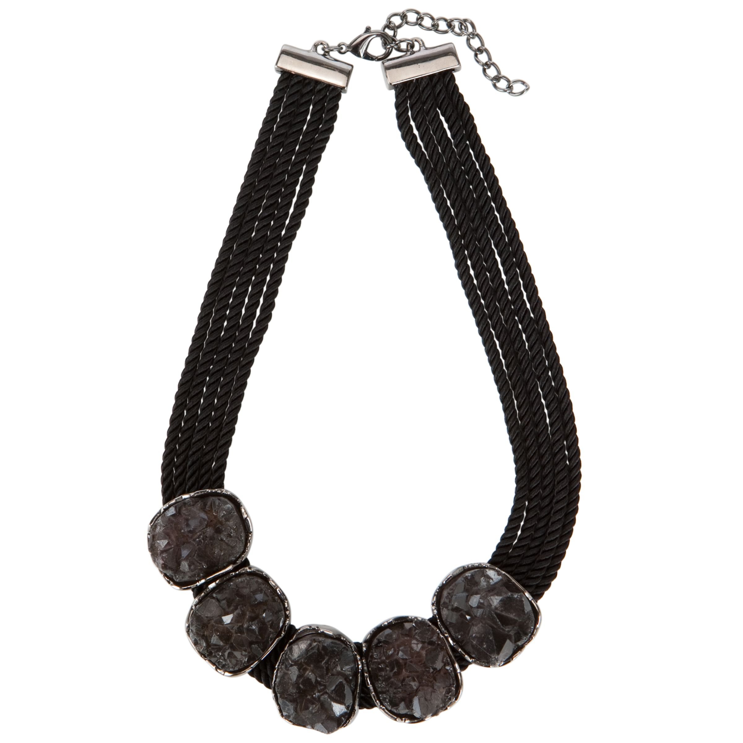COLLECTION, John Lewis Women Multi Cord Stone Necklace