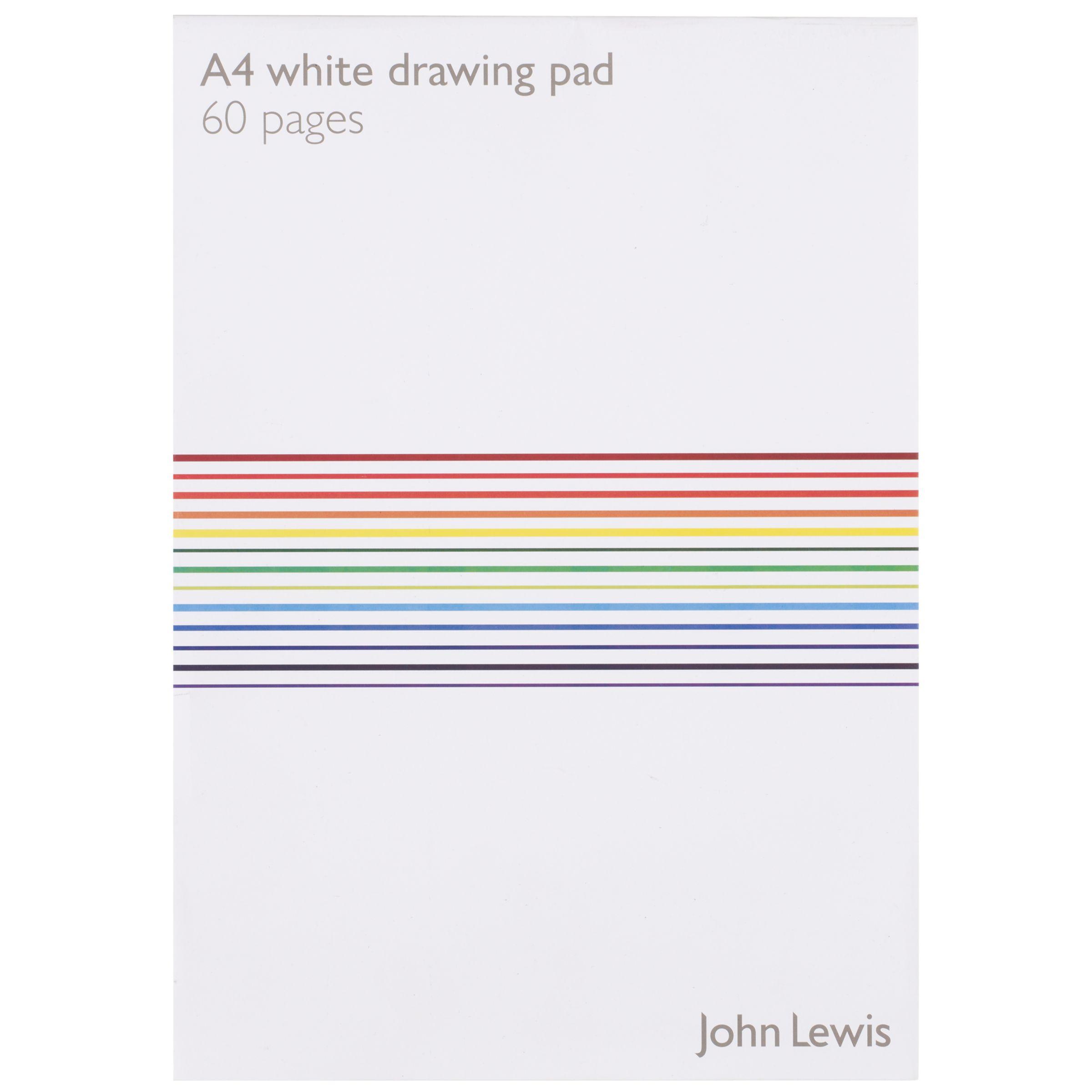 John Lewis A4 Paper, Plain, 50 Sheets