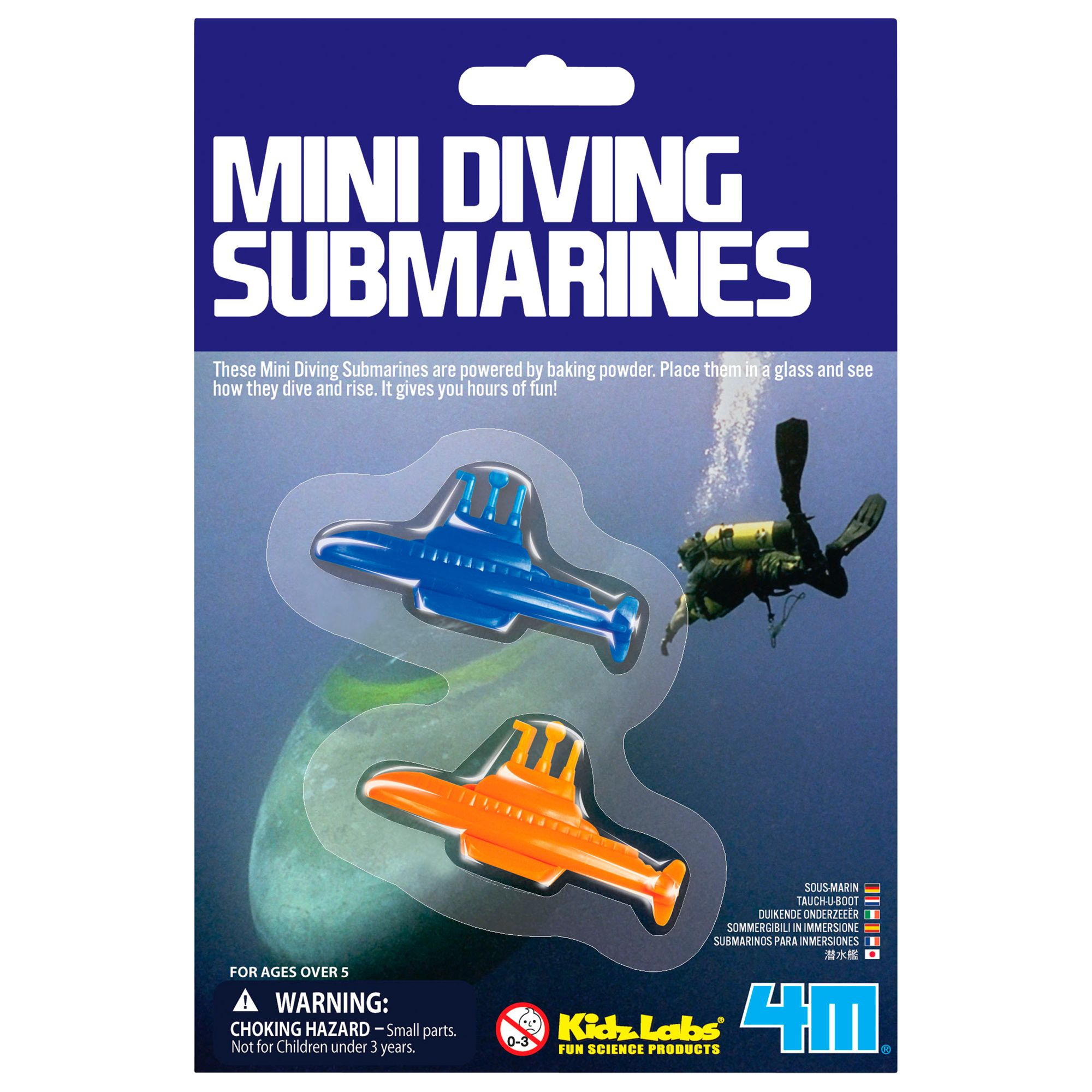 Kidz Lab Mini Diving Submarines