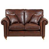 Duresta Lowndes Medium Sofa, Brandy Hide