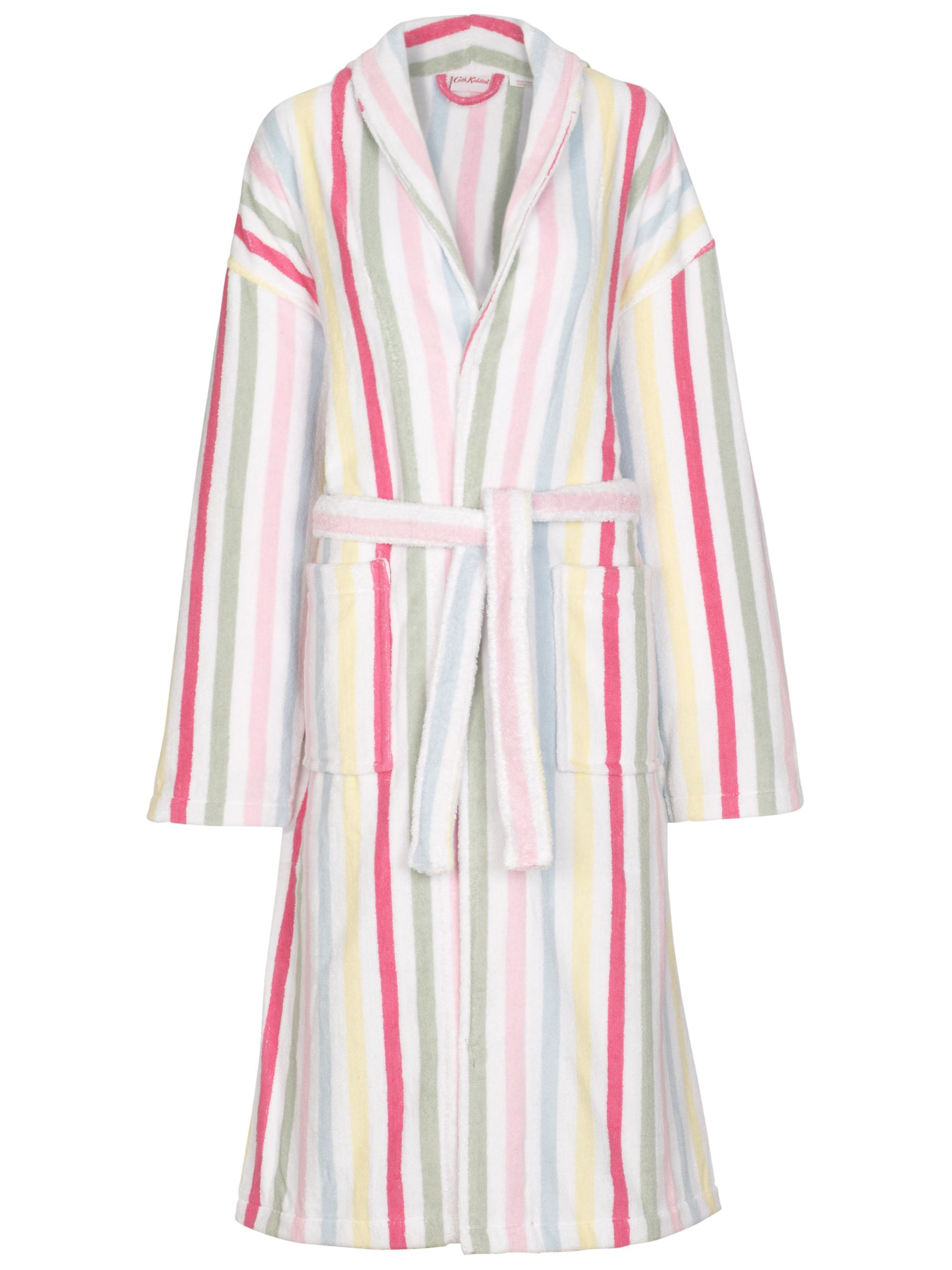 Cath Kidston Sherbert Stripe Bath Robe, Multi, One Size
