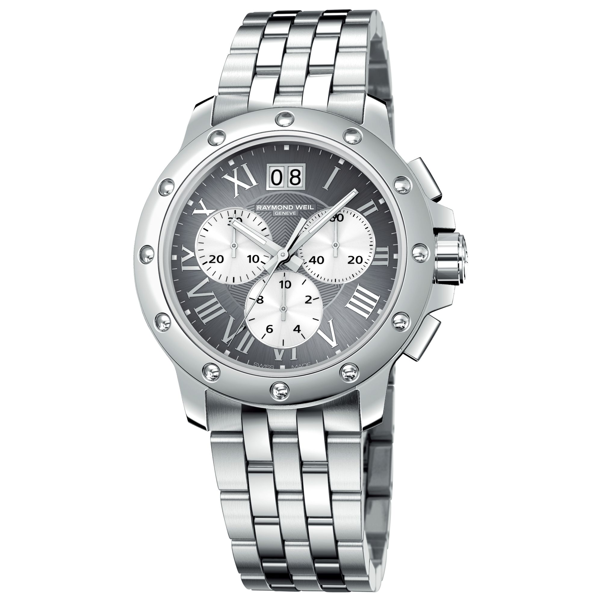 Raymond Weil 4899-ST-00668 Tango Chronograph Stainless Steel Bracelet Watch