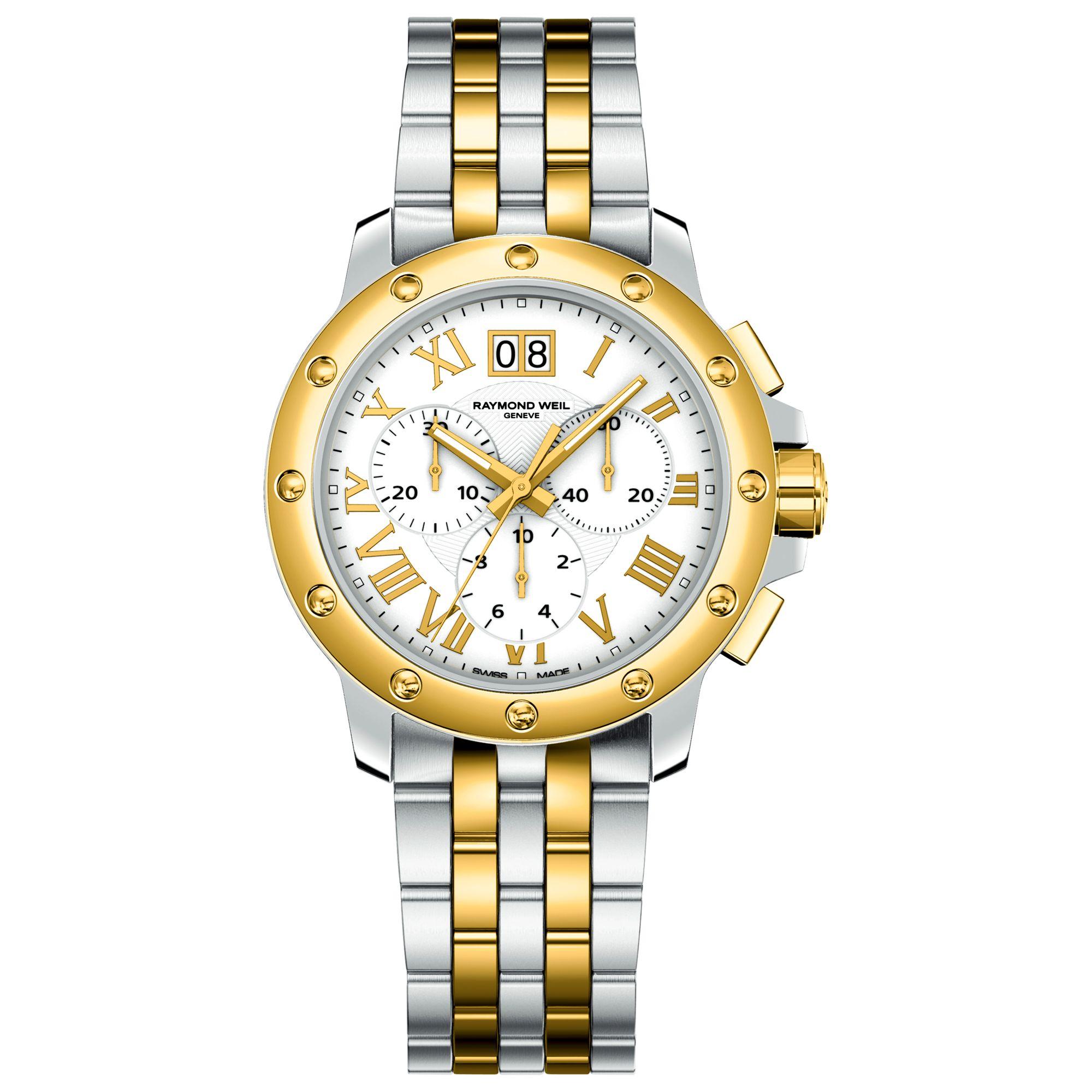 Raymond Weil 4899-STP-00308 Tango Two Tone Bracelet Watch