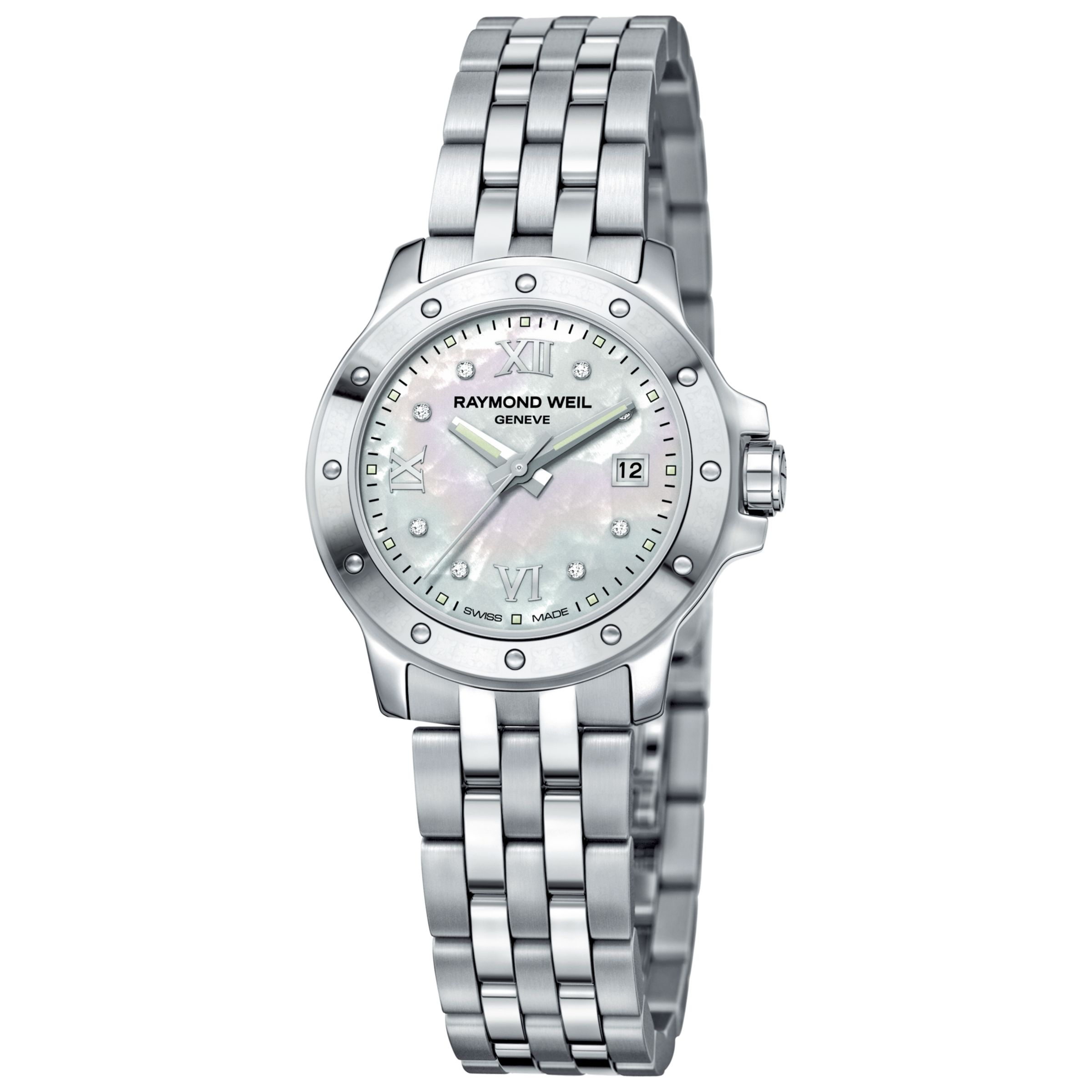 Raymond Weil 5399-ST-00995 Tango Ladies Round Stainless Steel Bracelet Watch