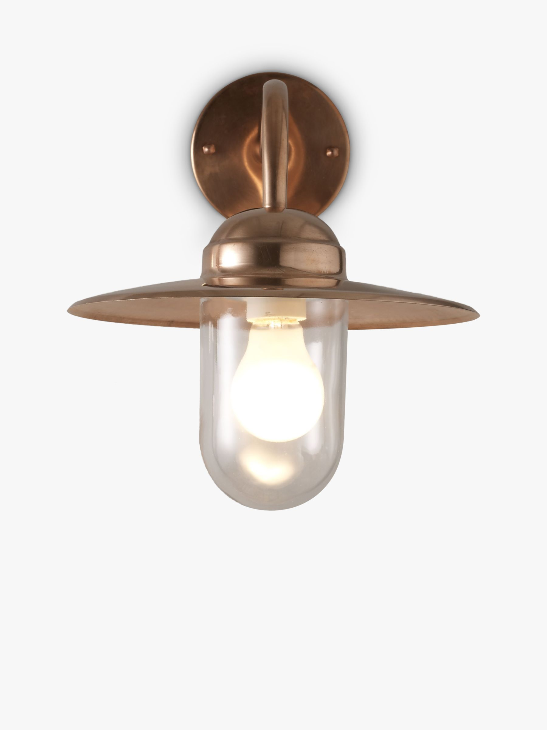 Copper Garden Wall Lights : Nordlux Luxembourg Outdoor Wall Light, Copper - review, compare prices, buy online