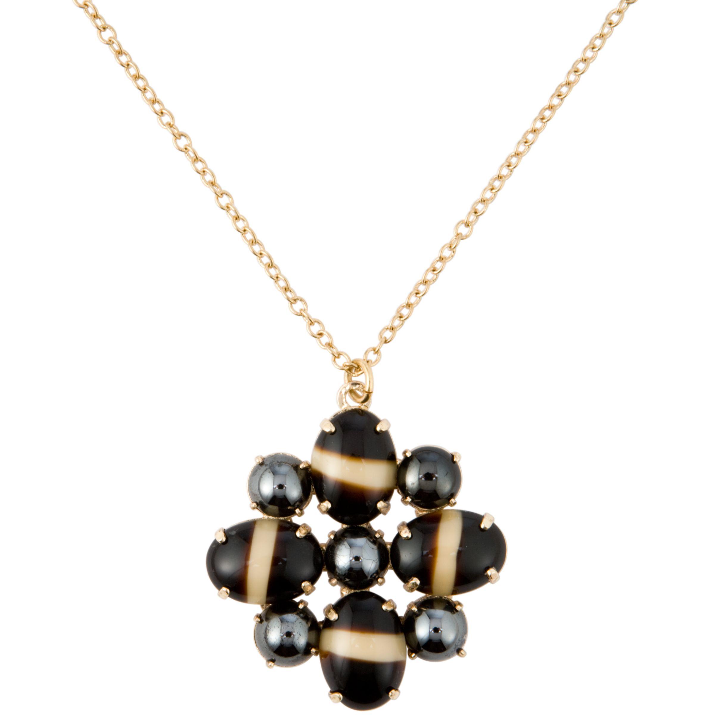 COLLECTION, John Lewis Women Long Gold Shell Detail Pendant Necklace