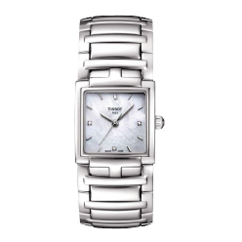Tissot T0513101111600 Women's T-Evocation Bracelet Watch, Silver