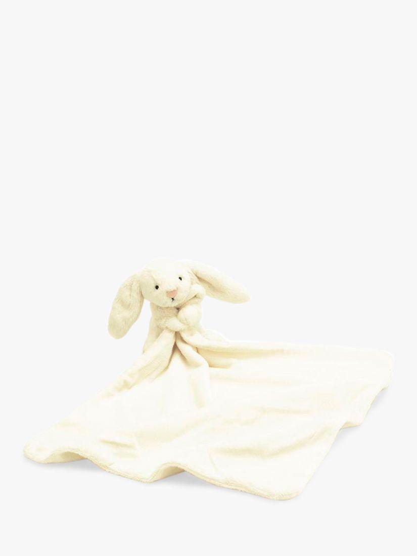 Jellycat Bashful Bunny Blankie, Cream