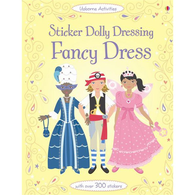 Sticker Dolly Dressing: Fancy Dress Book