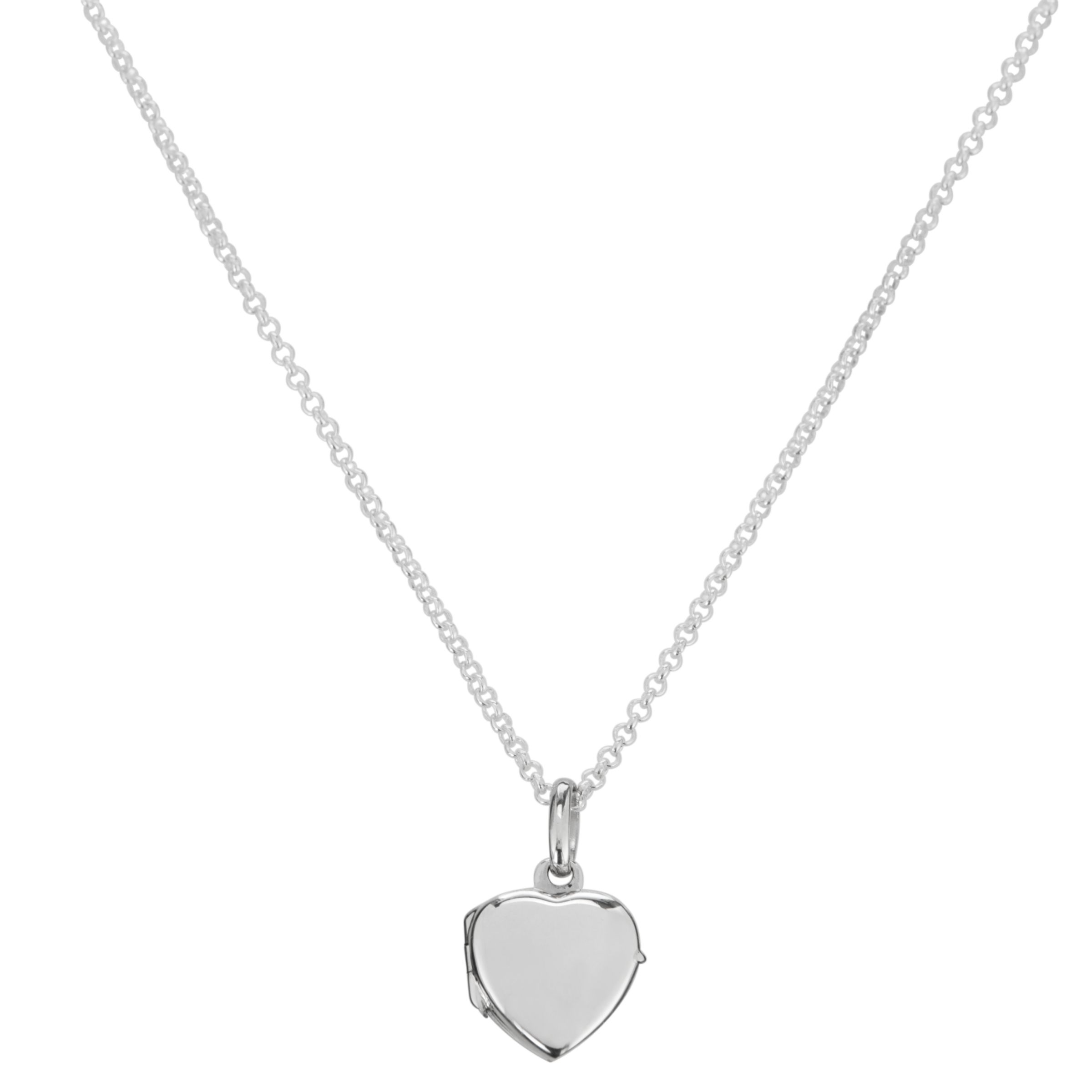 Martick My Heart Soars Secret Locket Necklace, Silver
