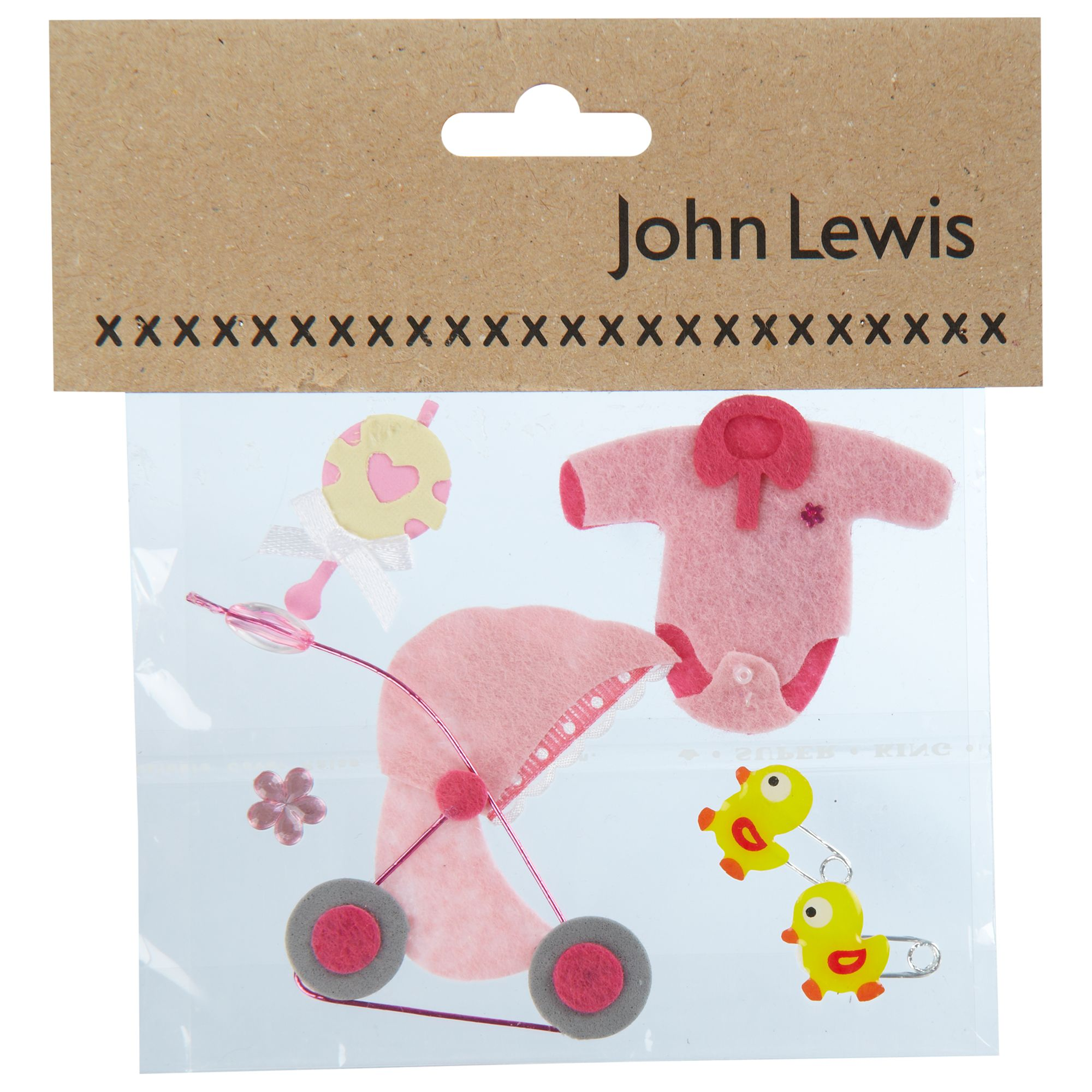 New Born Baby Card Toppers, Pink