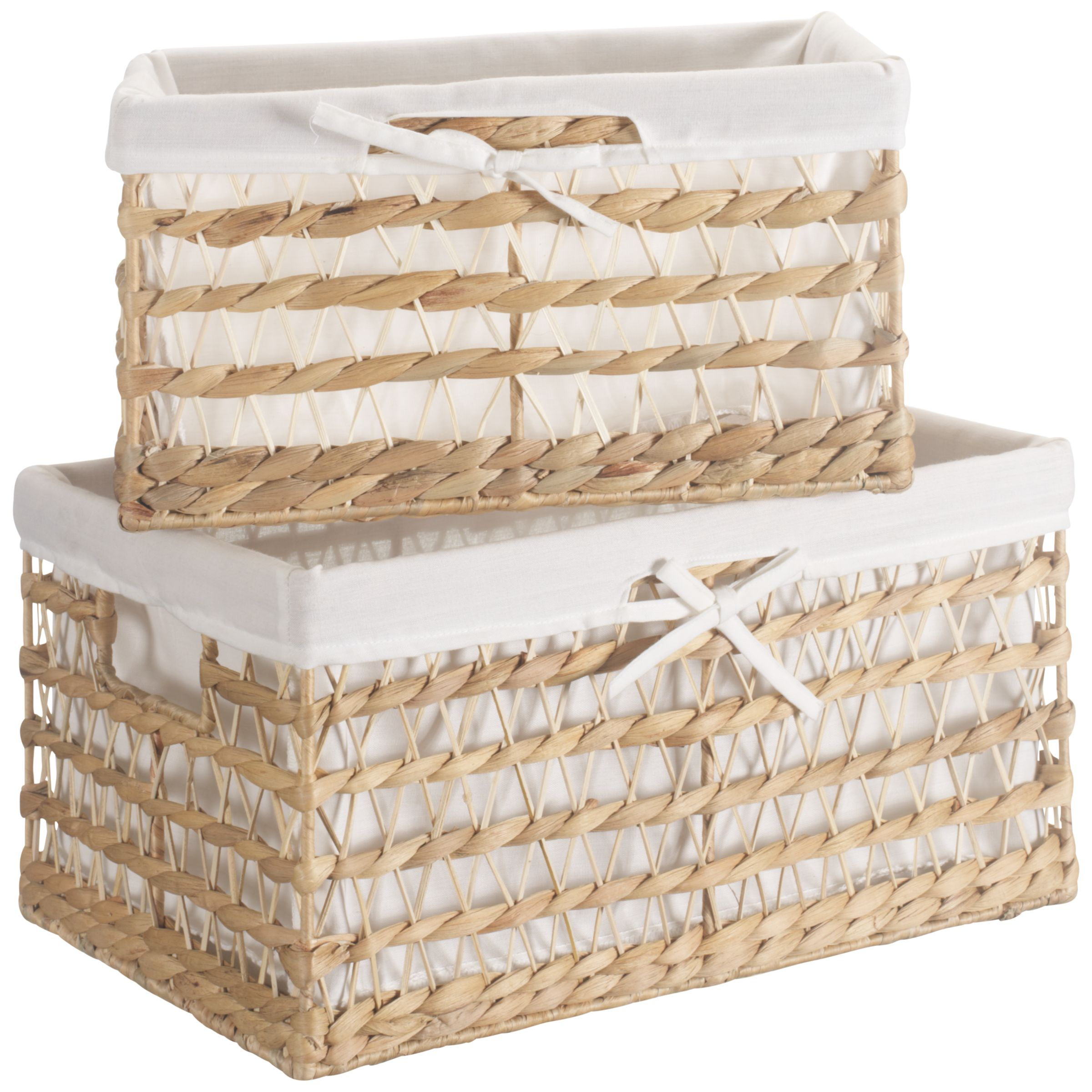 John Lewis Water Hyacinth Storage Baskets