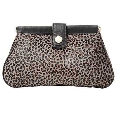 Pippa Middleton Spotty Leopard Print Clutch