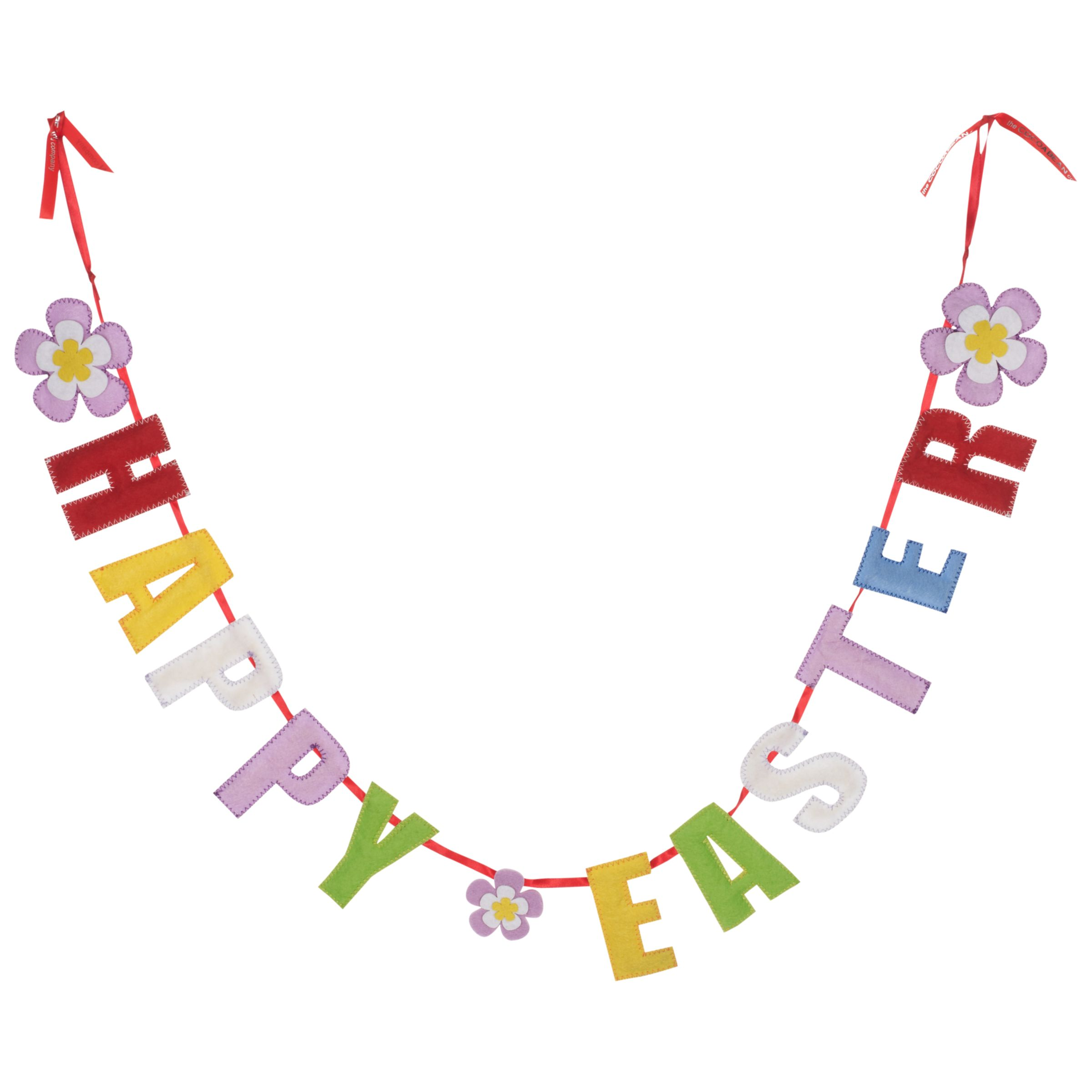 John Lewis Happy Easter Garland