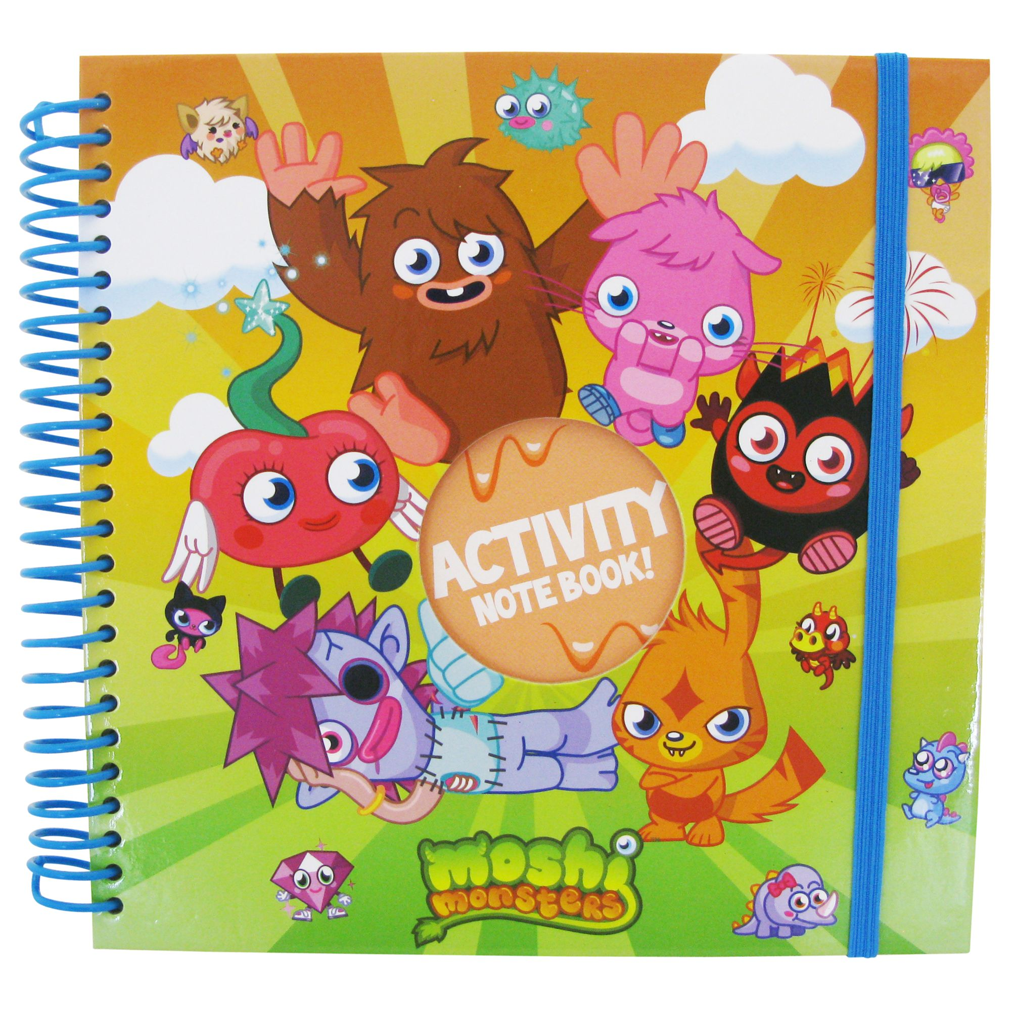 Moshi Monsters Activity Notebook