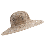 John Lewis Women Floppy Straw Hat, Natural