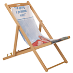 Hemingway Design FSC Deckchair, Permanent Wave