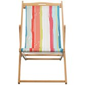 John Lewis FSC Deckchair, Playnation Stripe