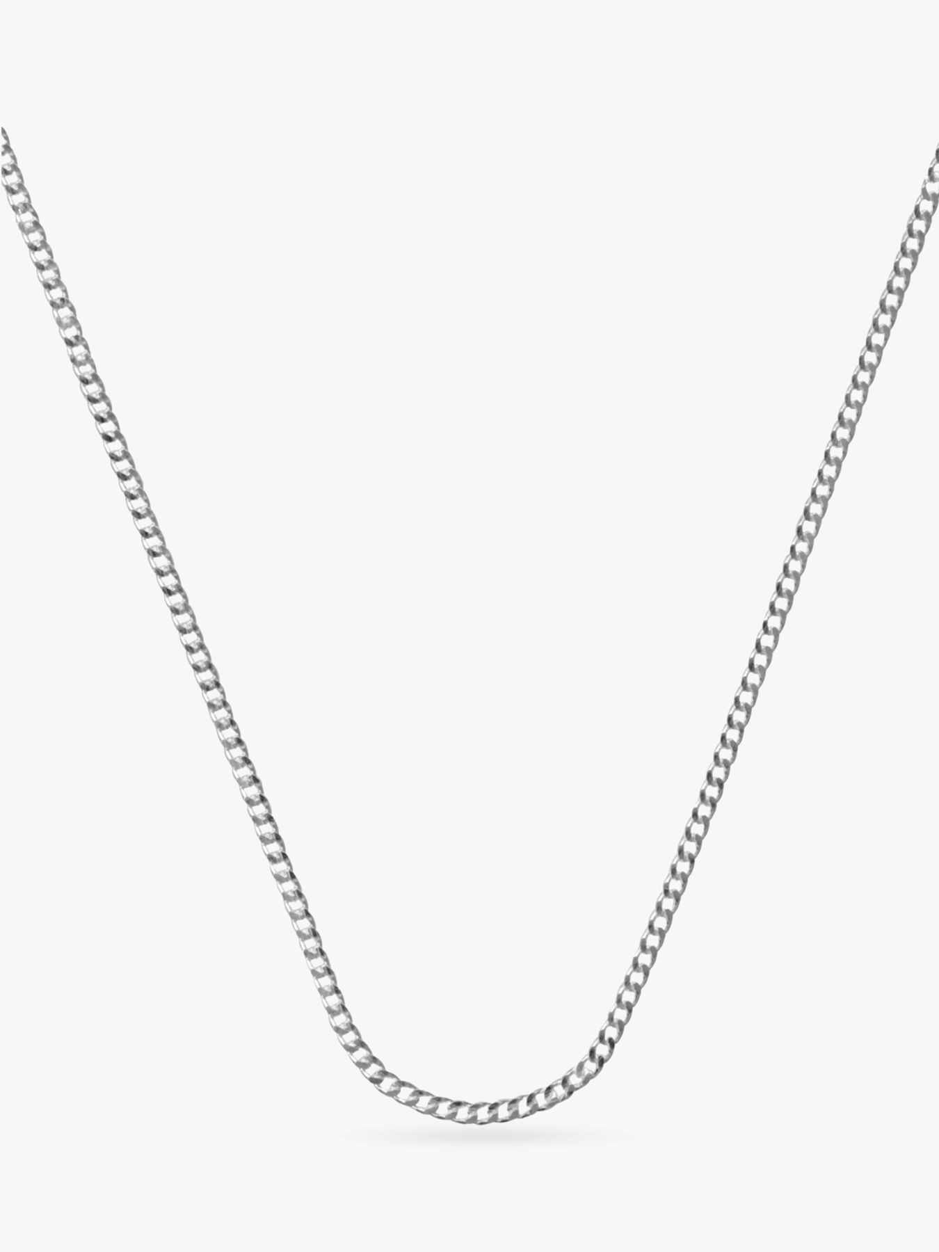 Nina Breddal Curb Chain Necklace, 40cm
