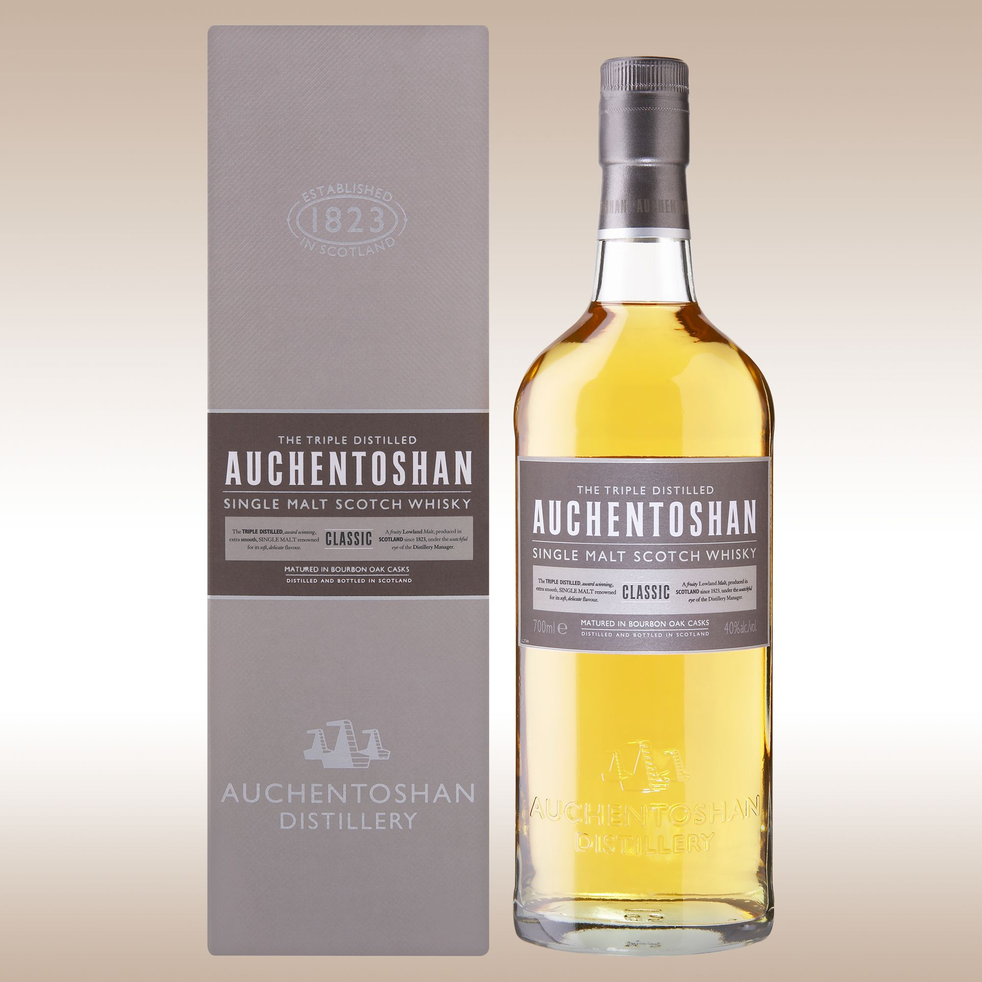 Auchentoshan Classic Lowland Single Malt Whisky