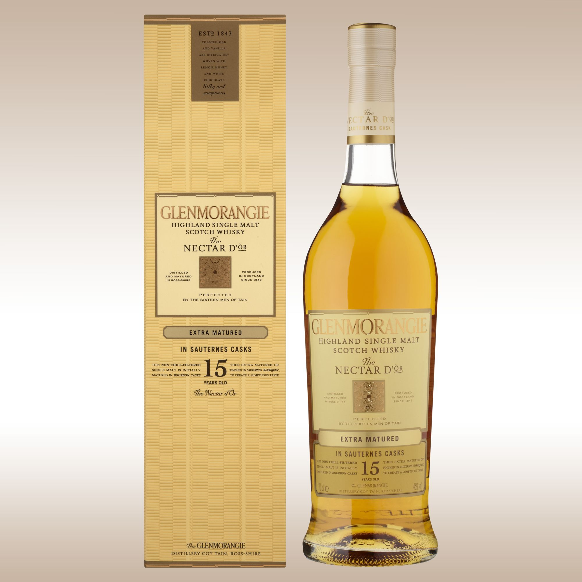 Glenmorangie Nectar D'or 15 Year Old Single Malt Whisky