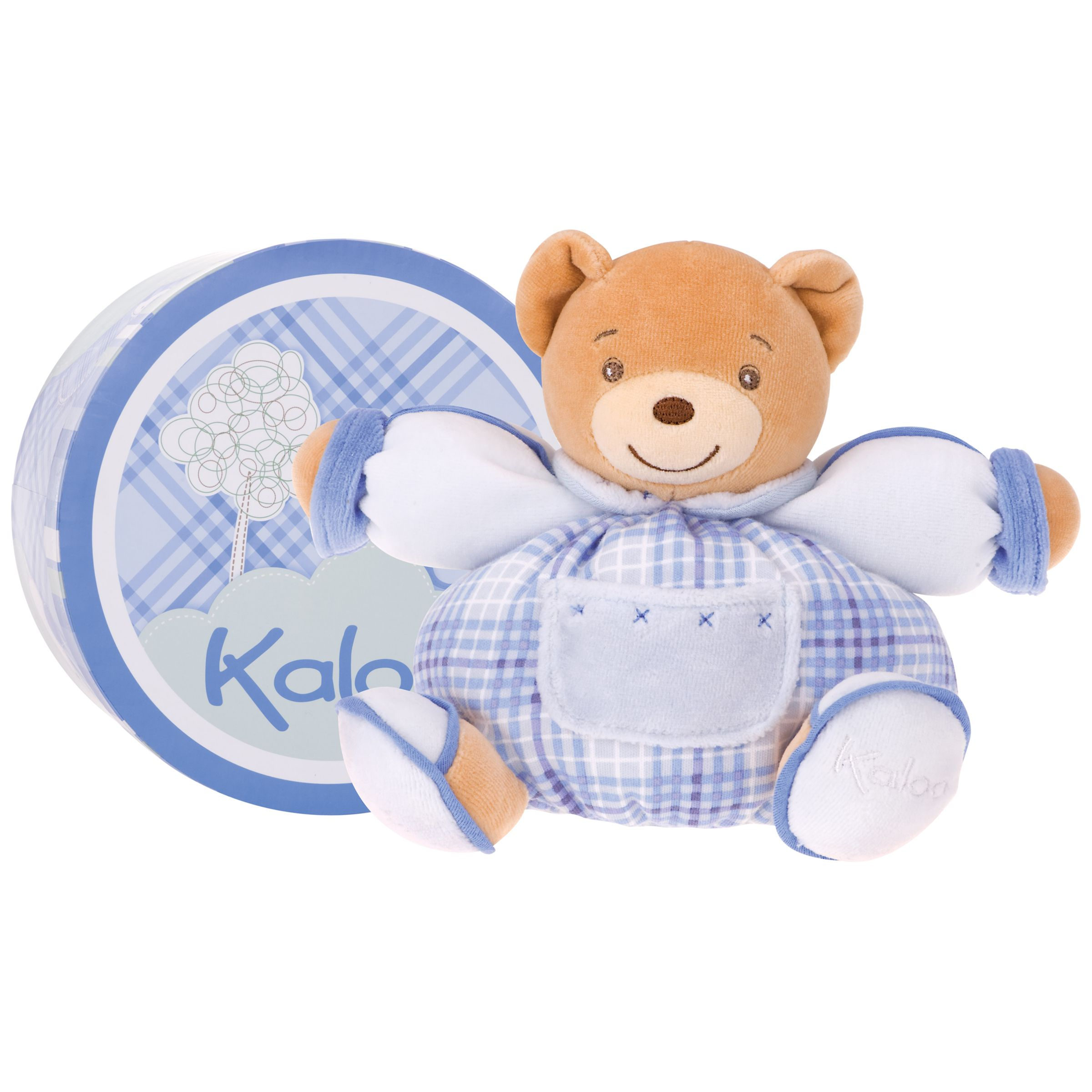 Kaloo Small Chubby Bear, Blue