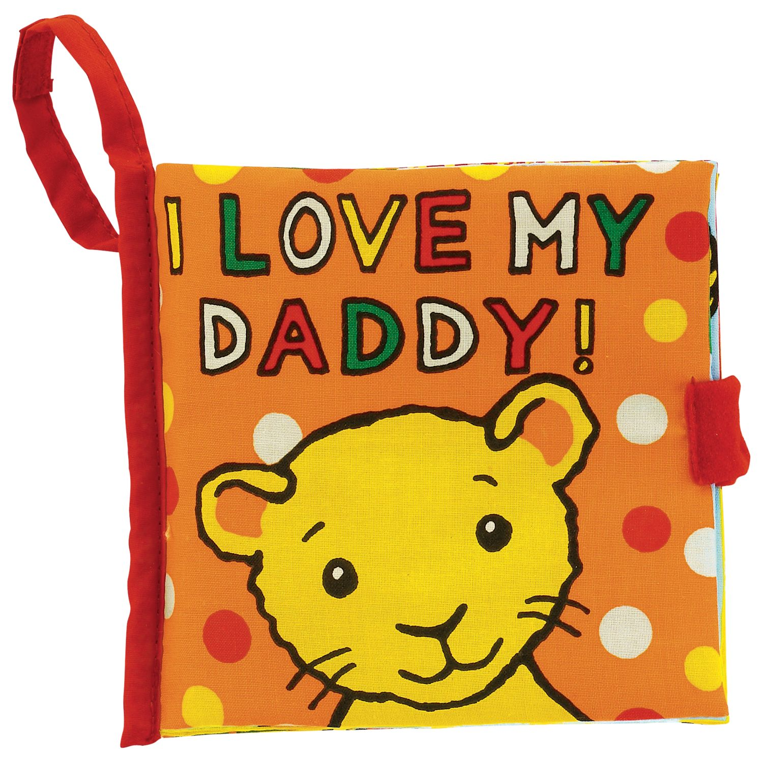 Jellycat I Love My Daddy Fabric Book