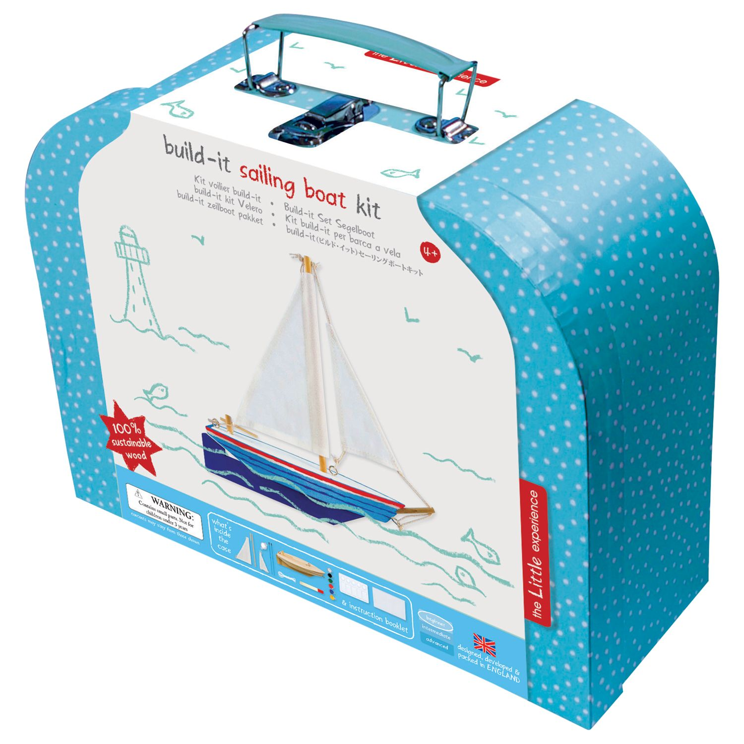 The Little Experience Build-it Sailing Boat Kit