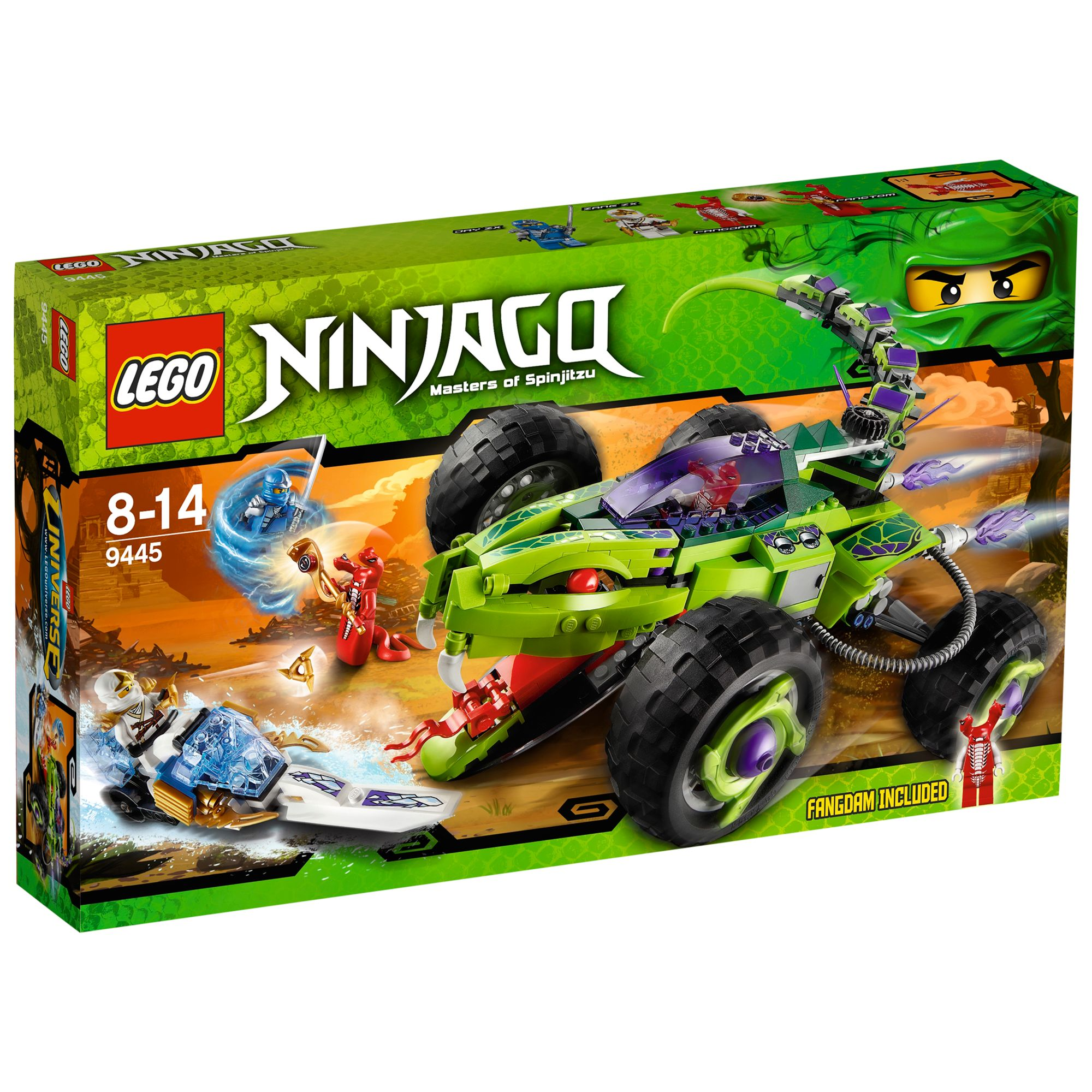 Lego Ninjago Fangpyre Truck Ambush