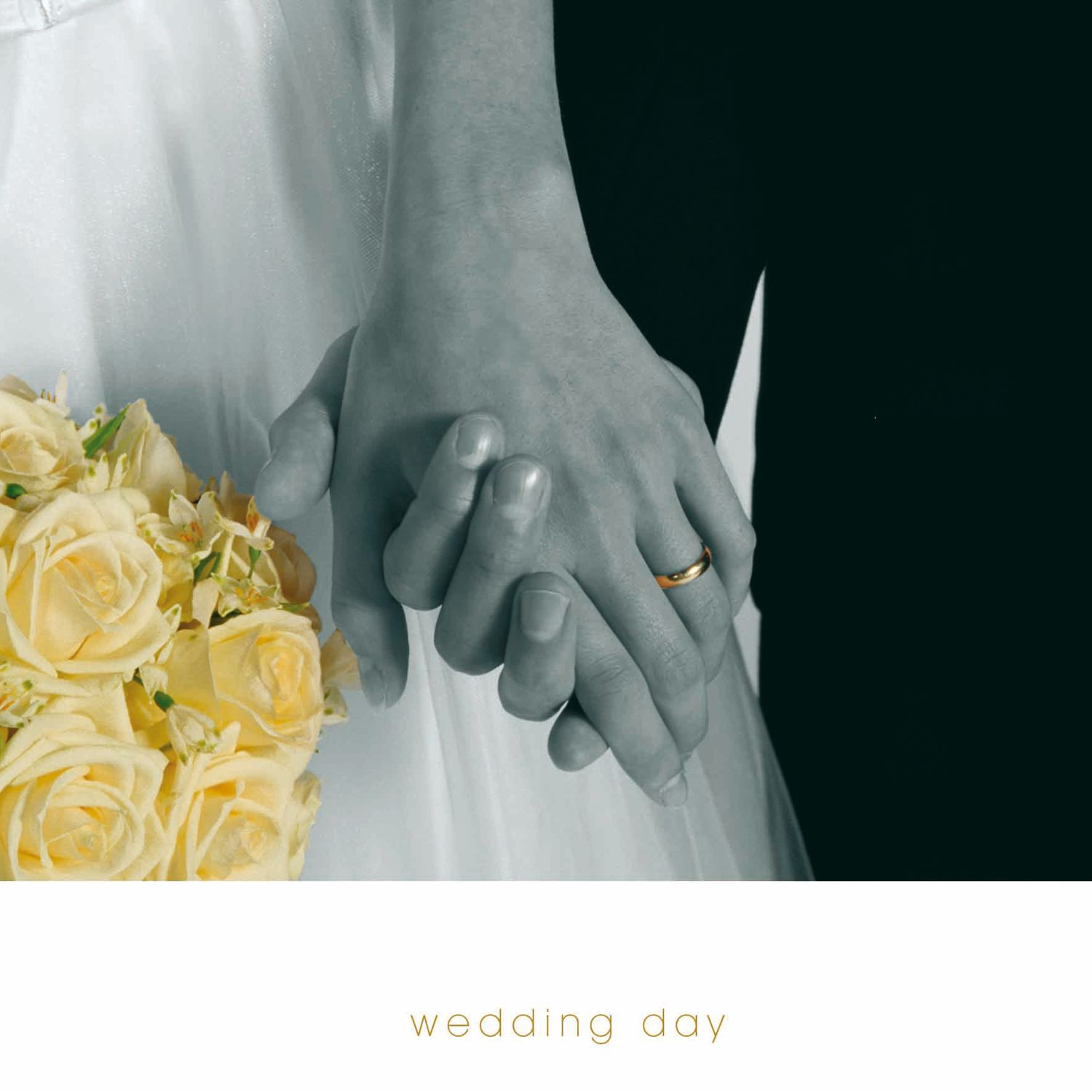 Woodmansterne Holding Hands Wedding Card