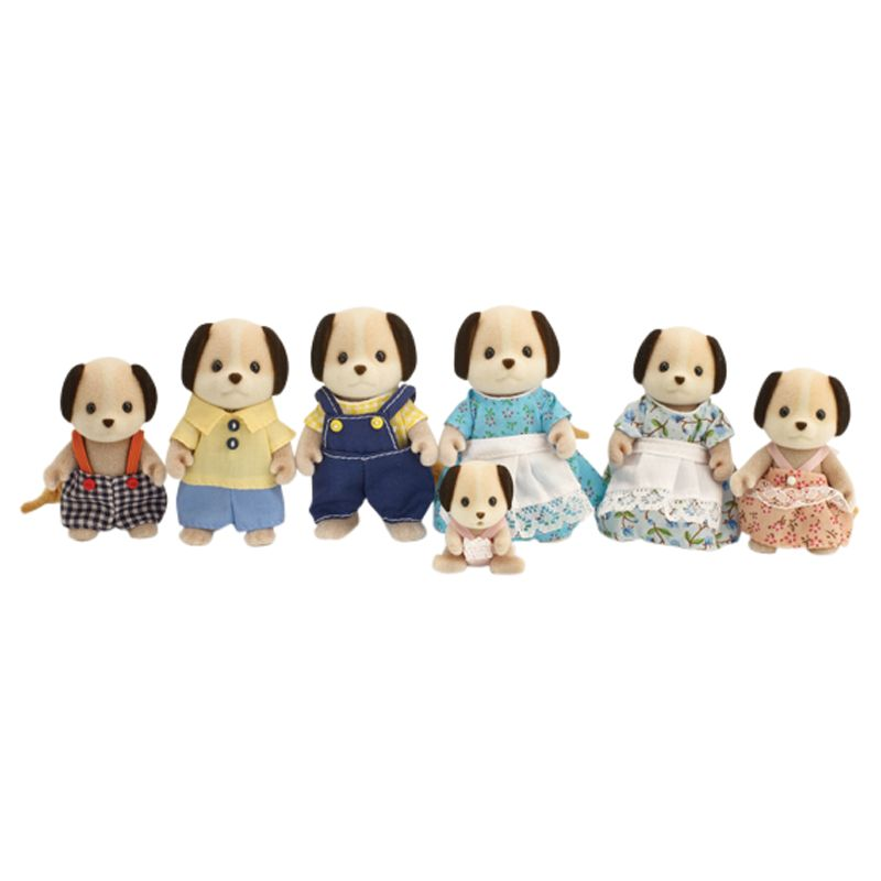 Sylvanian Families Celebration Beagle Dog Family