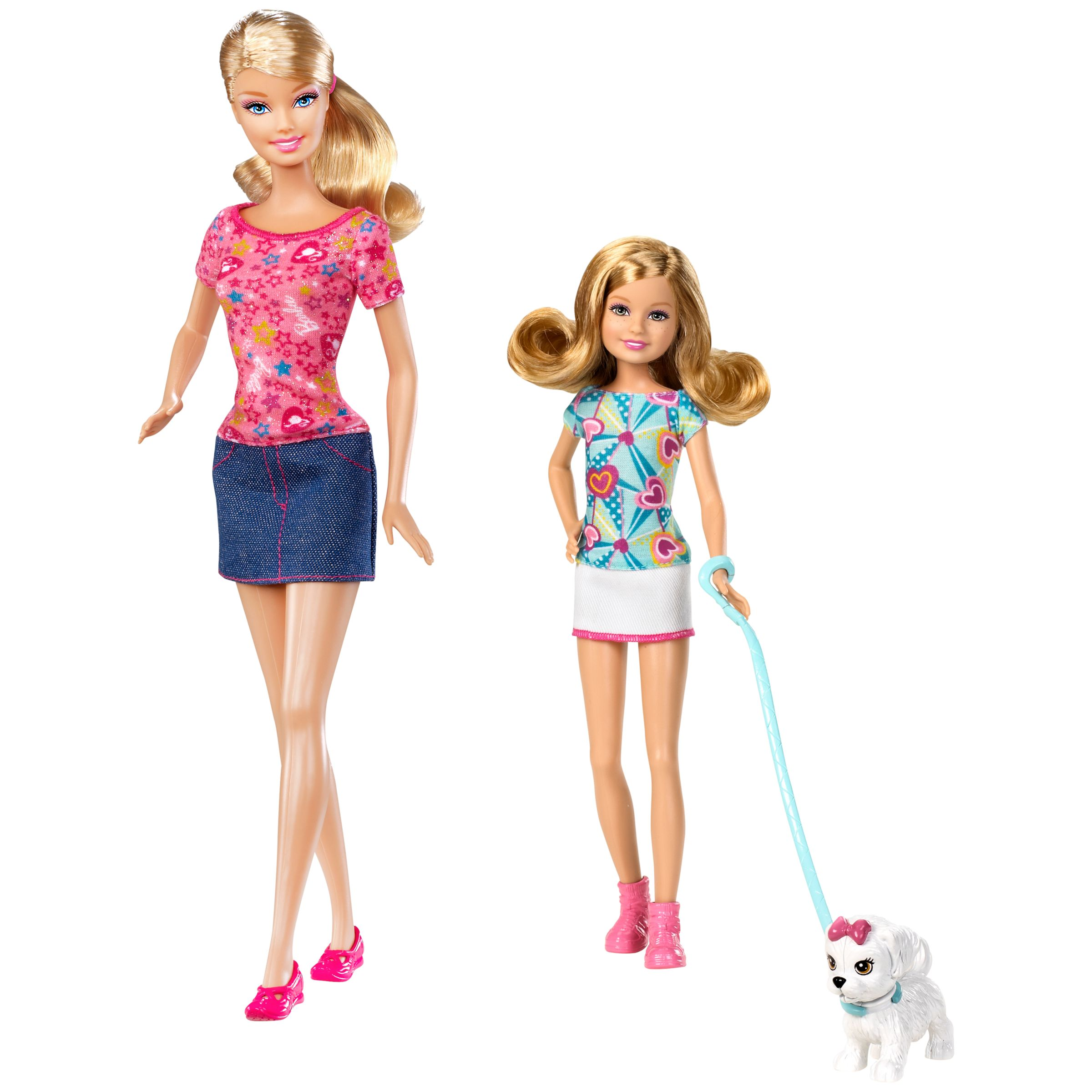Barbie Sisters and Puppy Set, Assorted