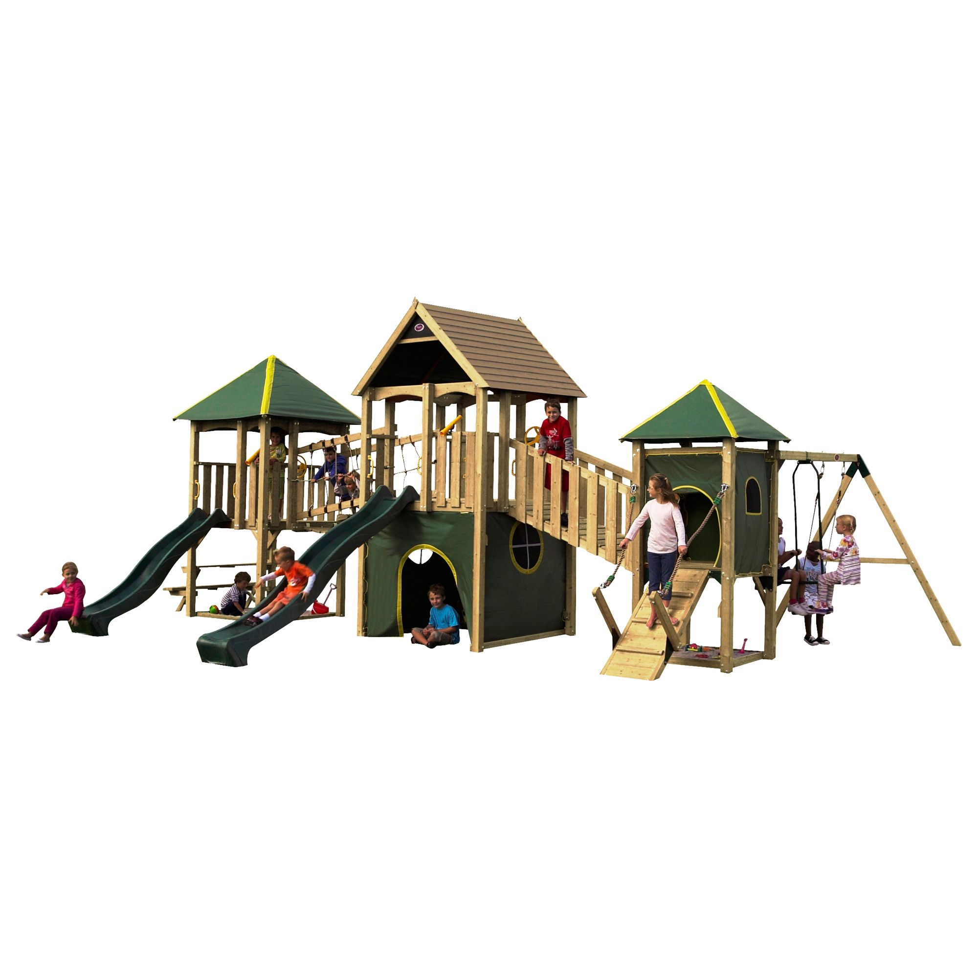 Plum Wildebeest Giant Wooden Play Centre