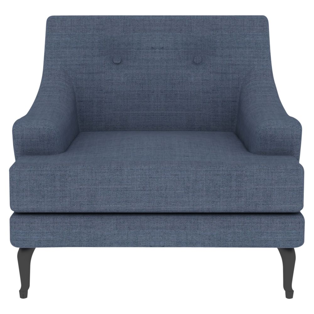 Matthew Hilton for Case Sissinghurst Armchair, Steel Blue