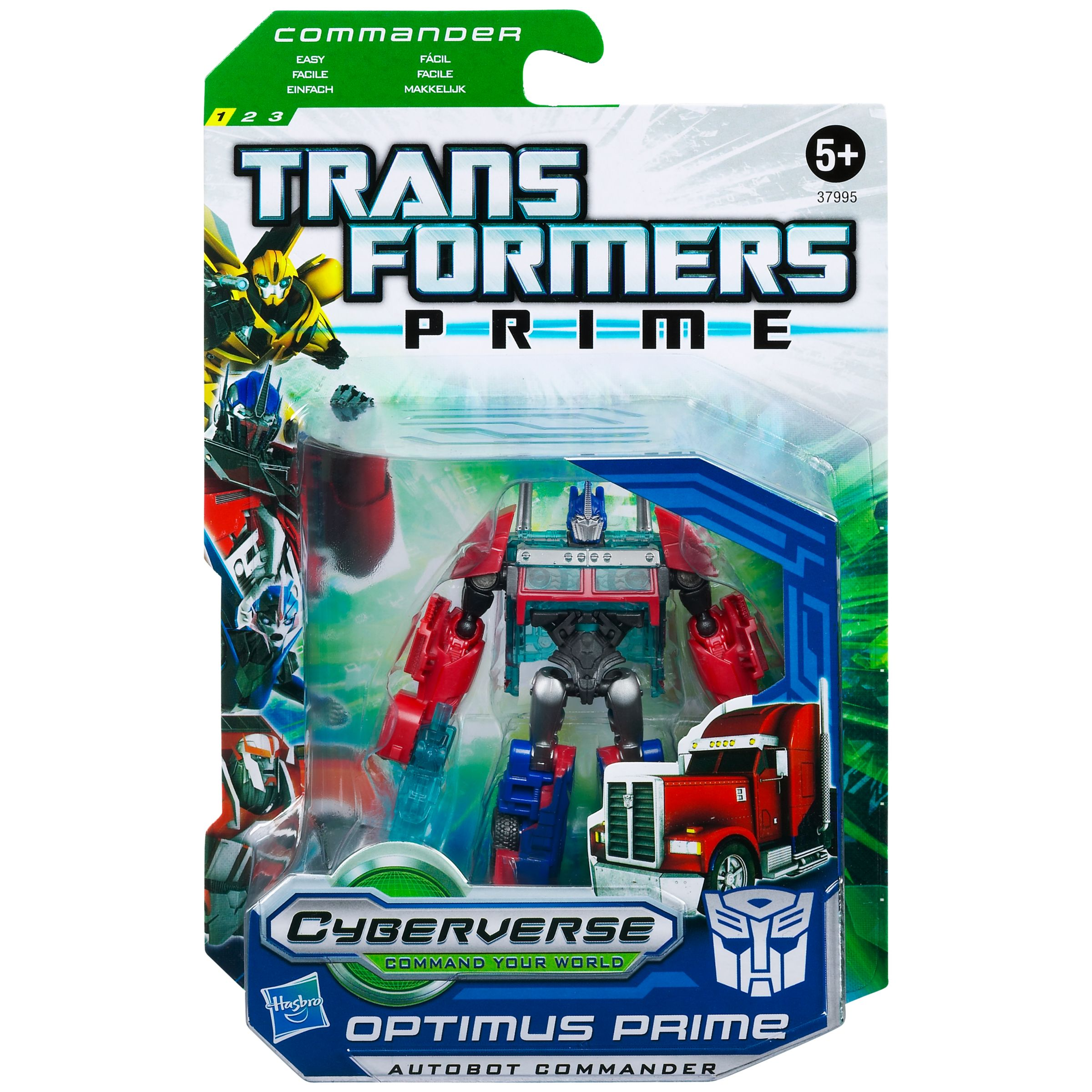 Transformers: Prime Commander, Assorted