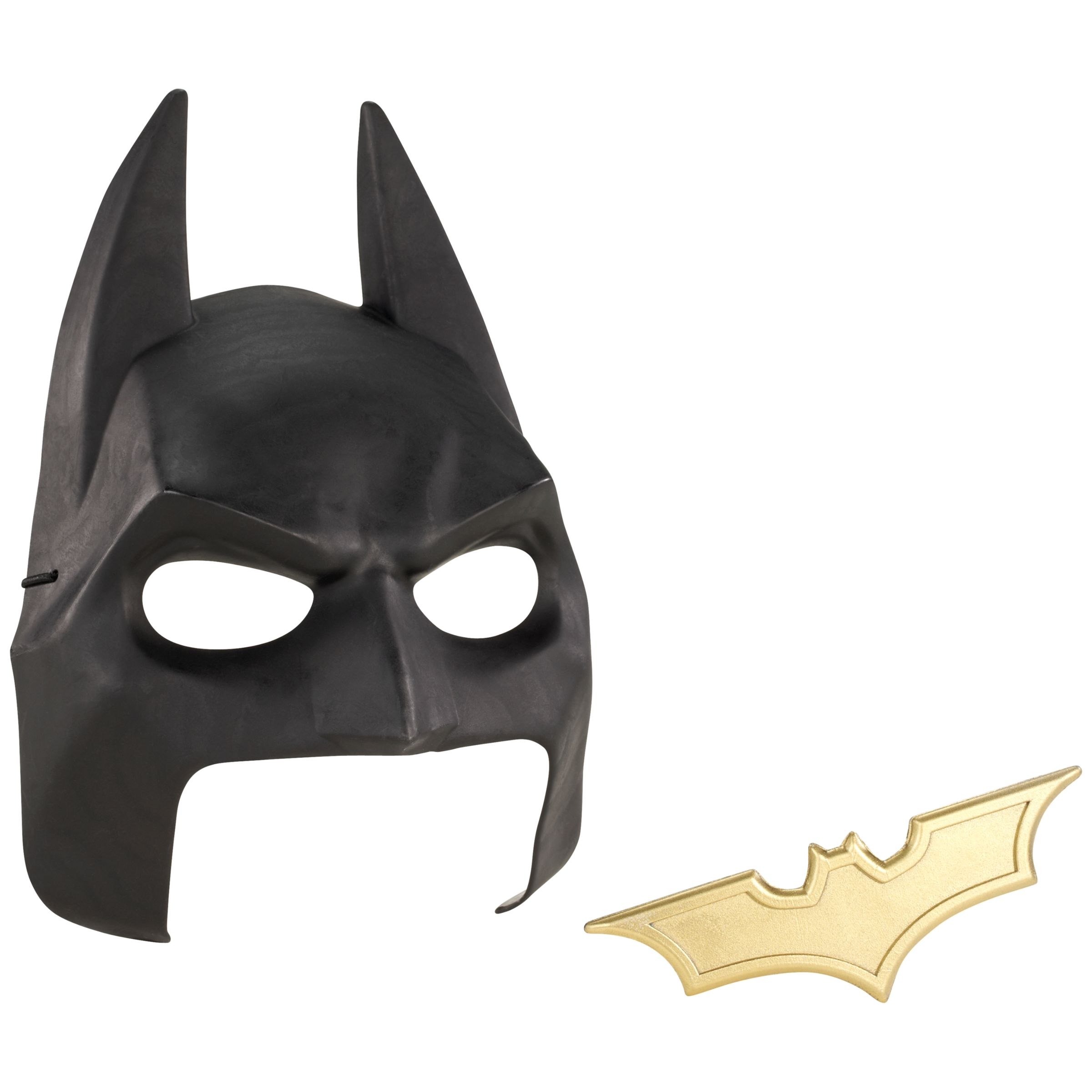Batman Cowl and Batarang