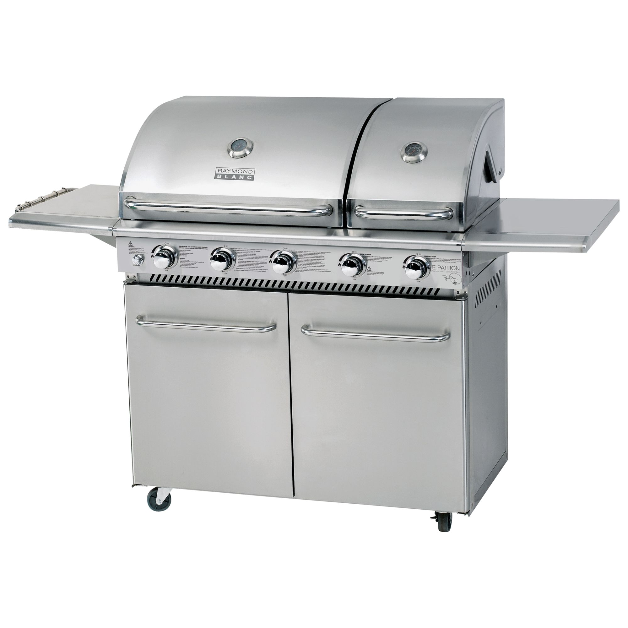 Raymond Blanc 5 Burner Gas Barbecue