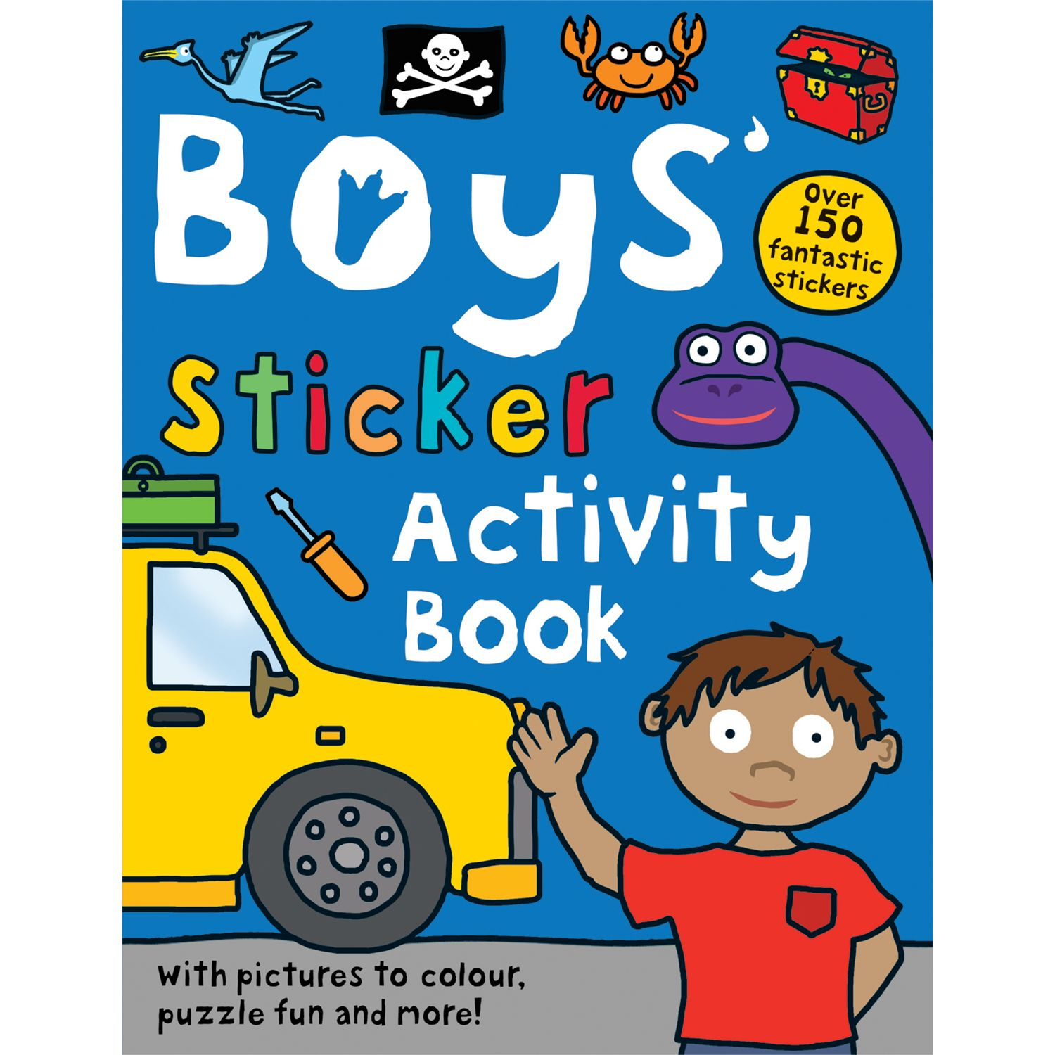 Boys' Sticker Activity Book
