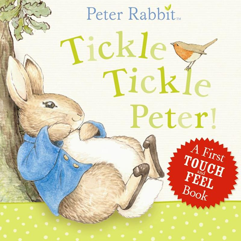 Tickle Tickle Peter! Touch and Feel Book