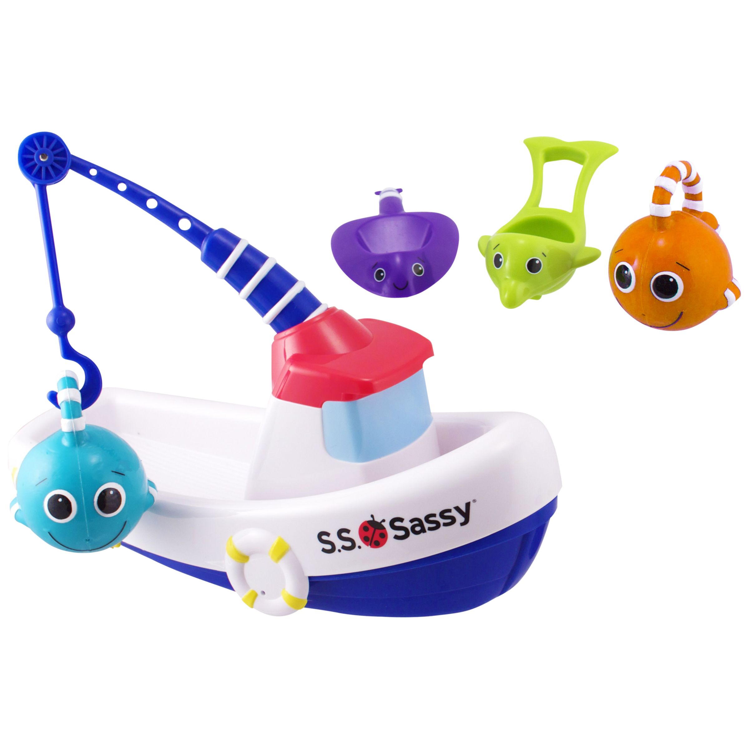 Sassy Fishing Boat Bath Toy