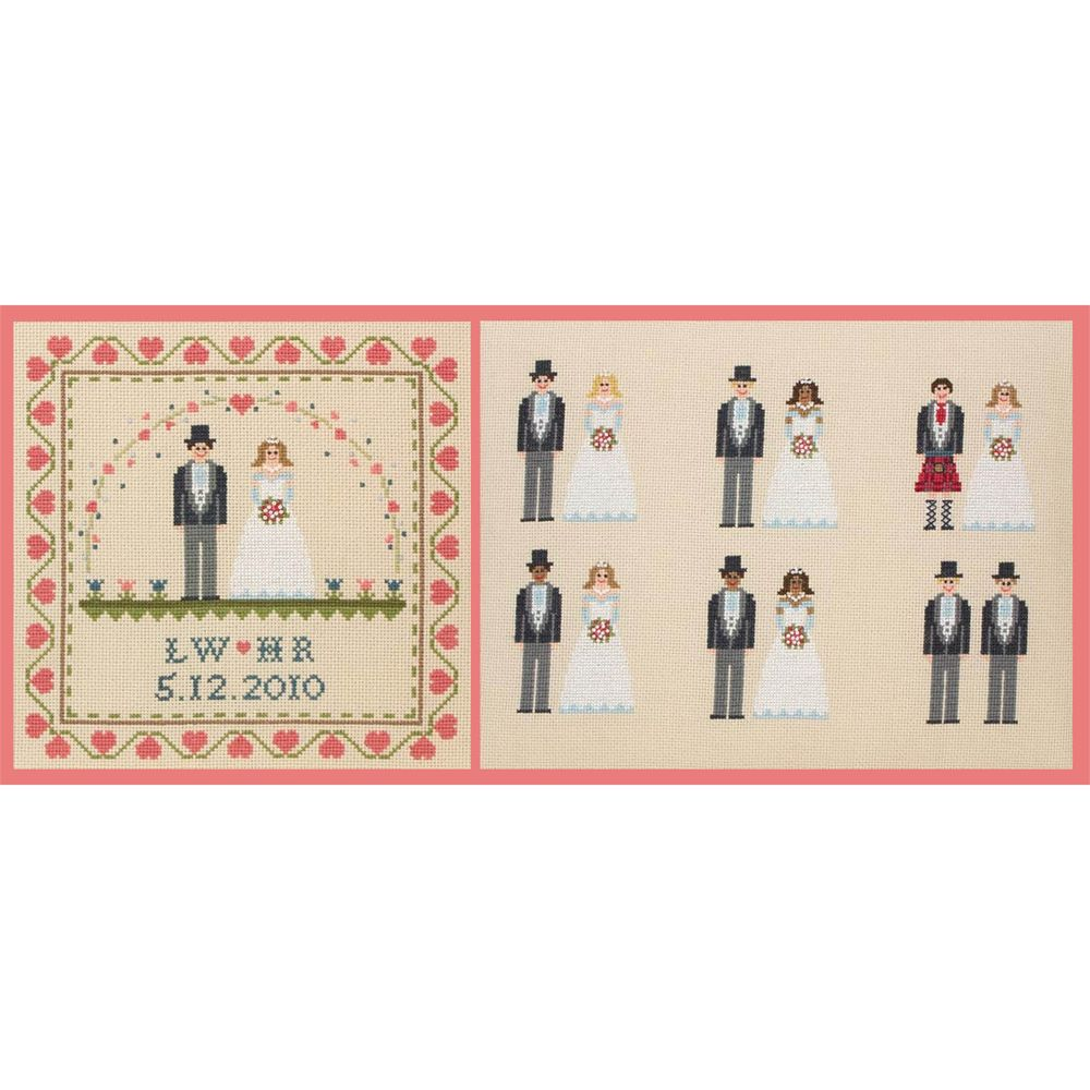 Anchor Wedding Mix And Match Cross Stitch Kit