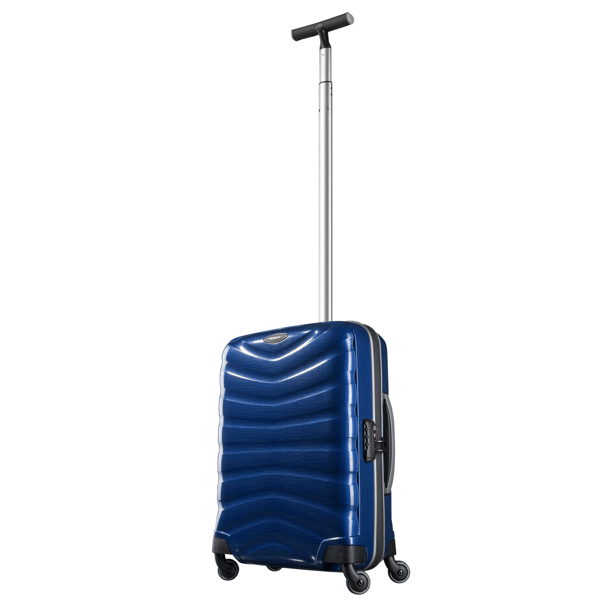 Samsonite Firelite 4-Wheel Spinner Suitcase, Deep Blue, Cabin