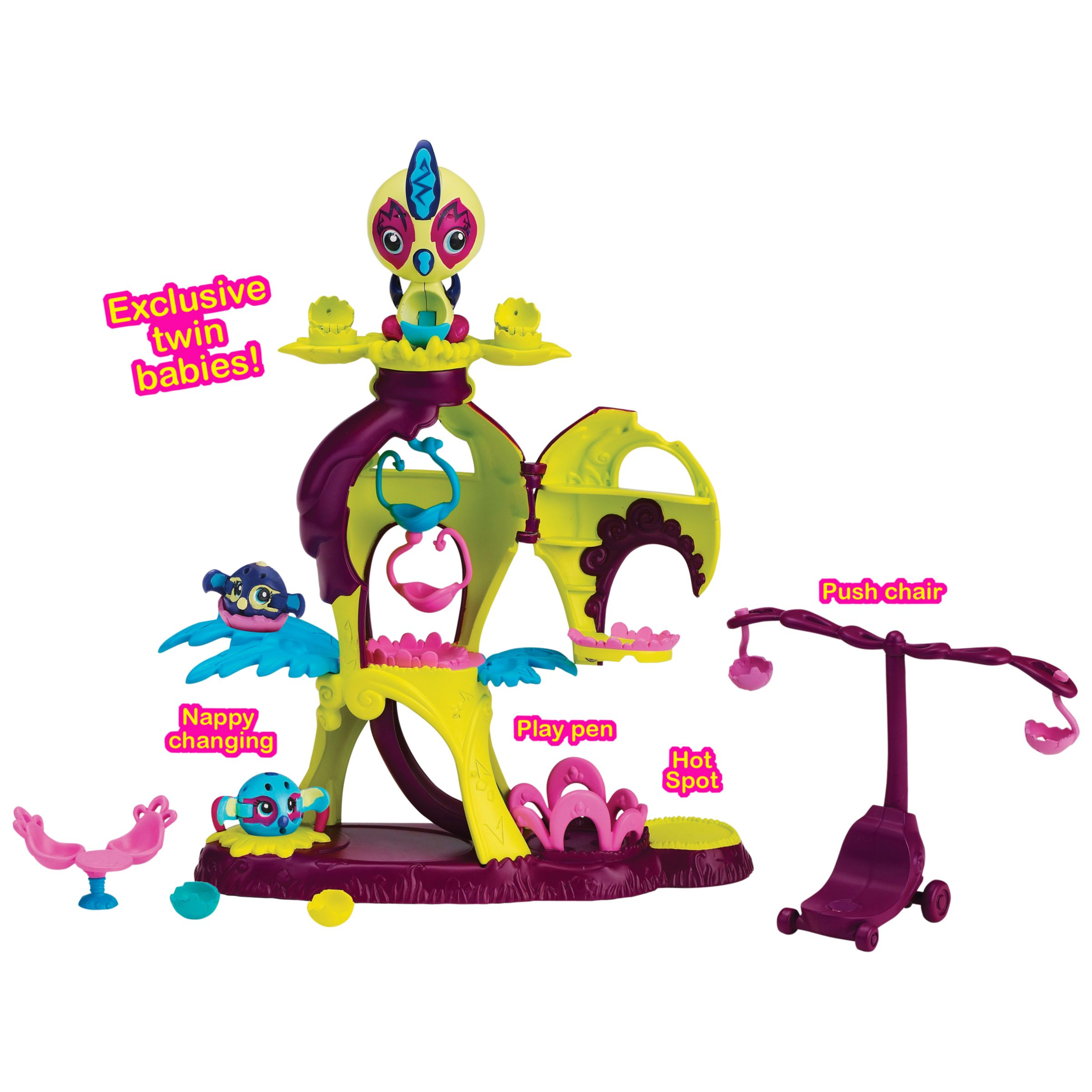 Zoobles Mamas and Zoobling Playset