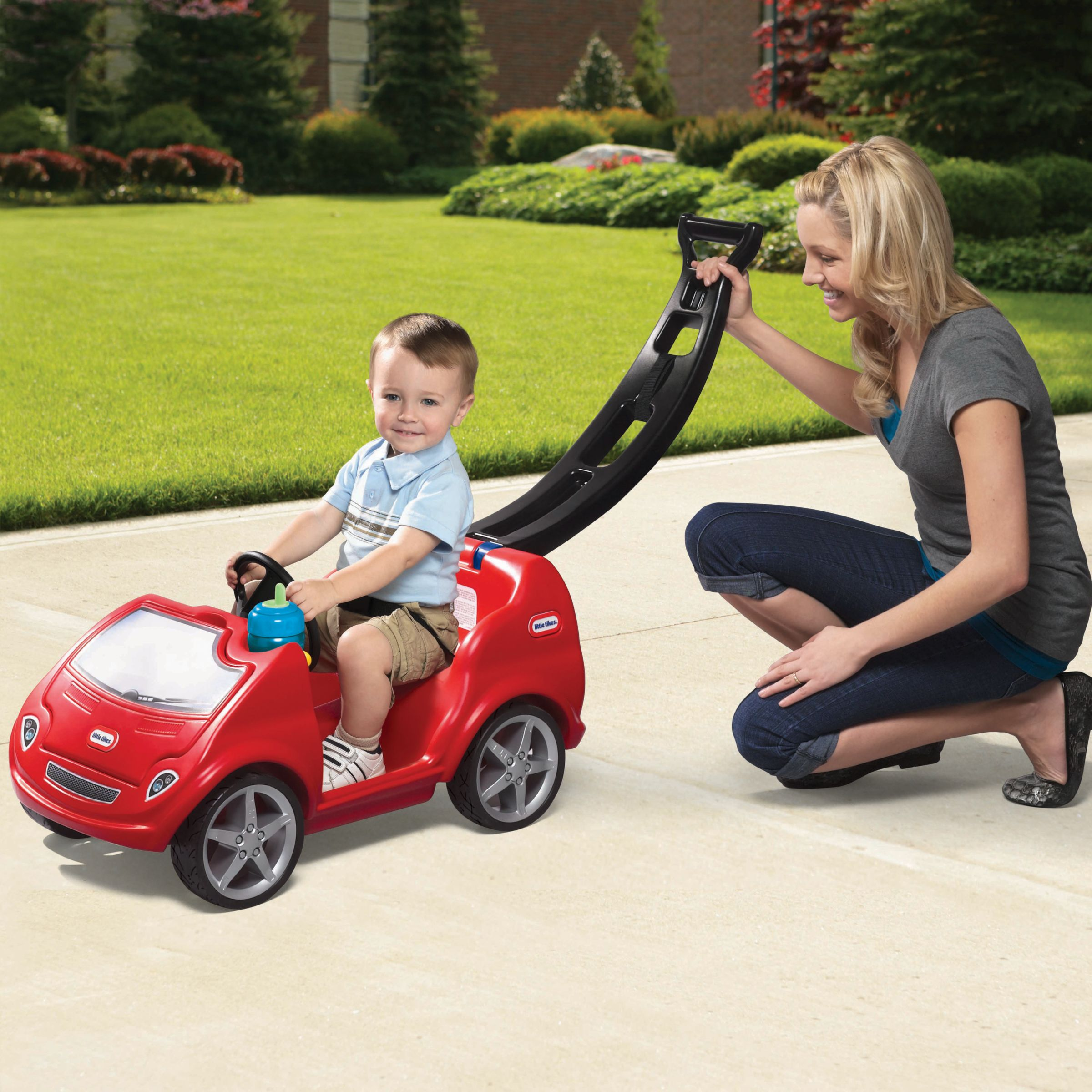 Little Tikes Mobile Push 'n' Ride Car