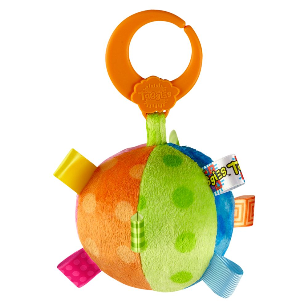 Taggies Fun Shape Multi Ball, Multi