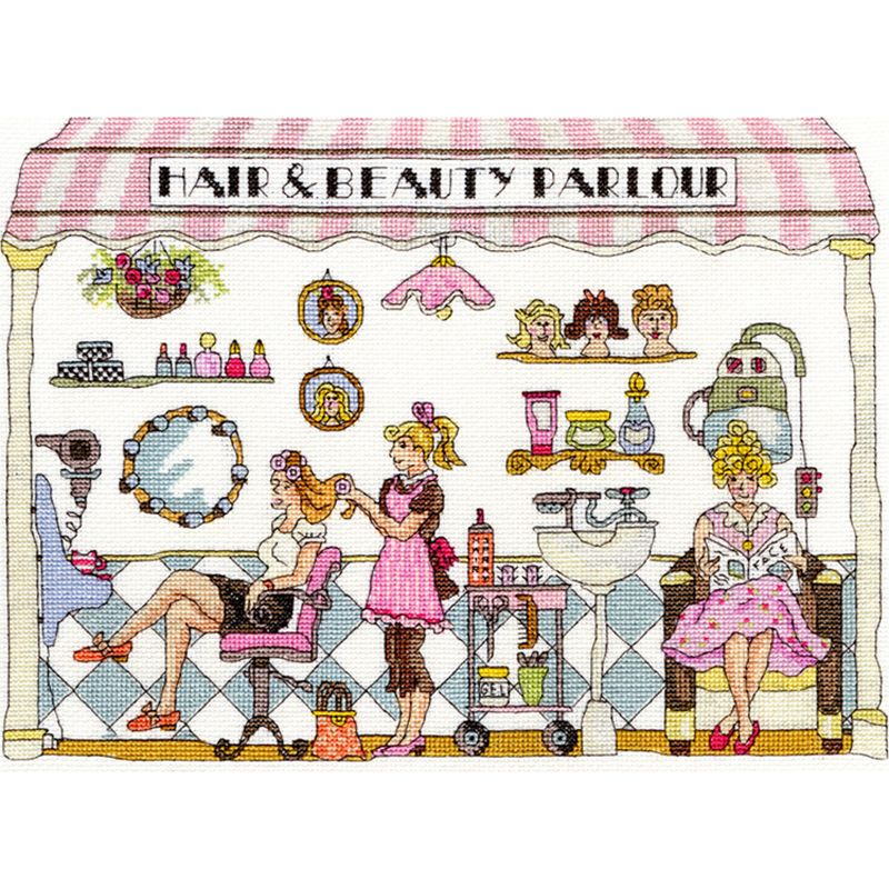 Bothy Threads Beauty Parlour Cross Stitch Kit