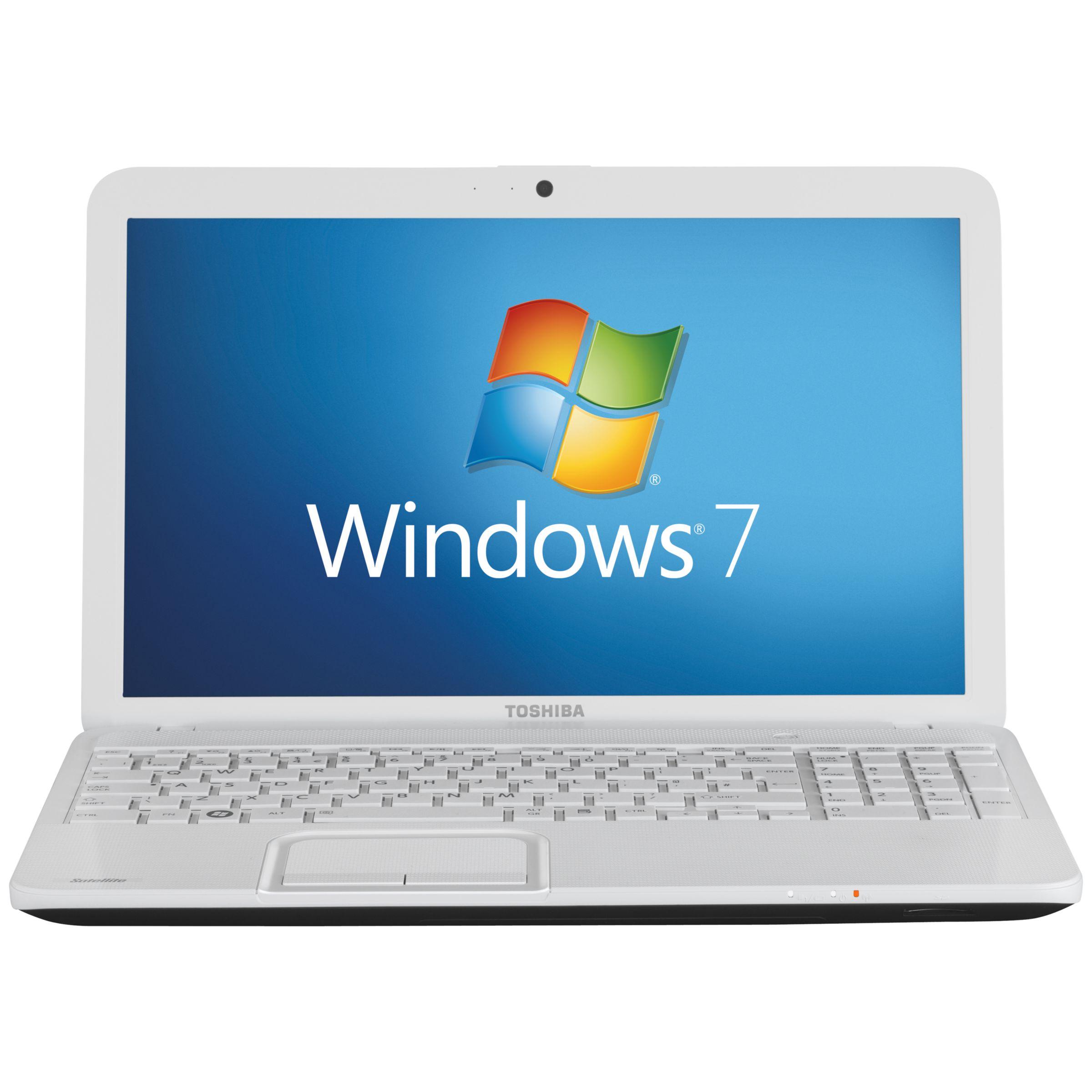 "Toshiba Satellite C855 Laptop, Intel Pentium B960, 2.2ghz, 6gb Ram, 640gb, 15.6"", White"