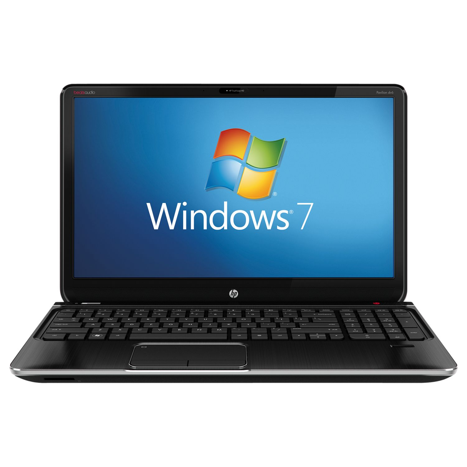 "Hp Pavilion Dv6-7051sa Laptop, Intel Core I3, 2.3ghz, 4gb Ram, 500gb, Beats Audio, 15.6"", Black"