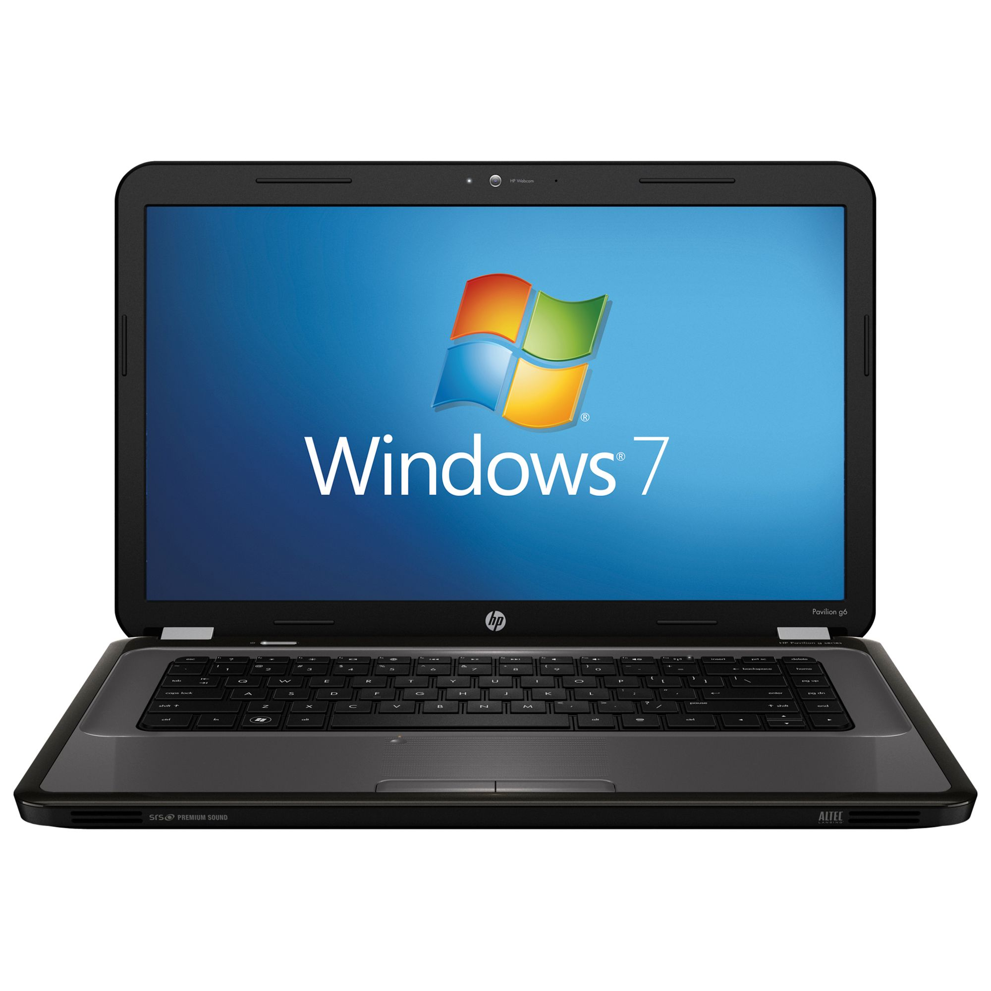 "Hp Pavilion G6-1306 Laptop, Amd Vision Dual-core, 1.9ghz, 4gb Ram, 1tb With 15.6"" Display, Grey"